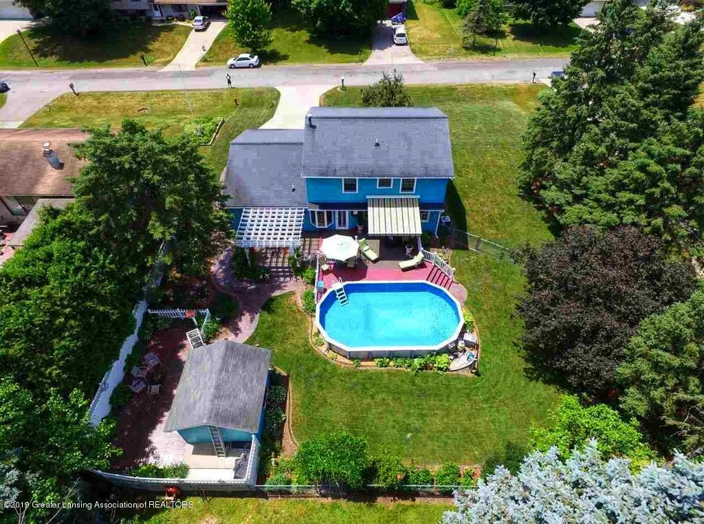 4121 Kenzie Blvd - backyard from above kenzie - 3
