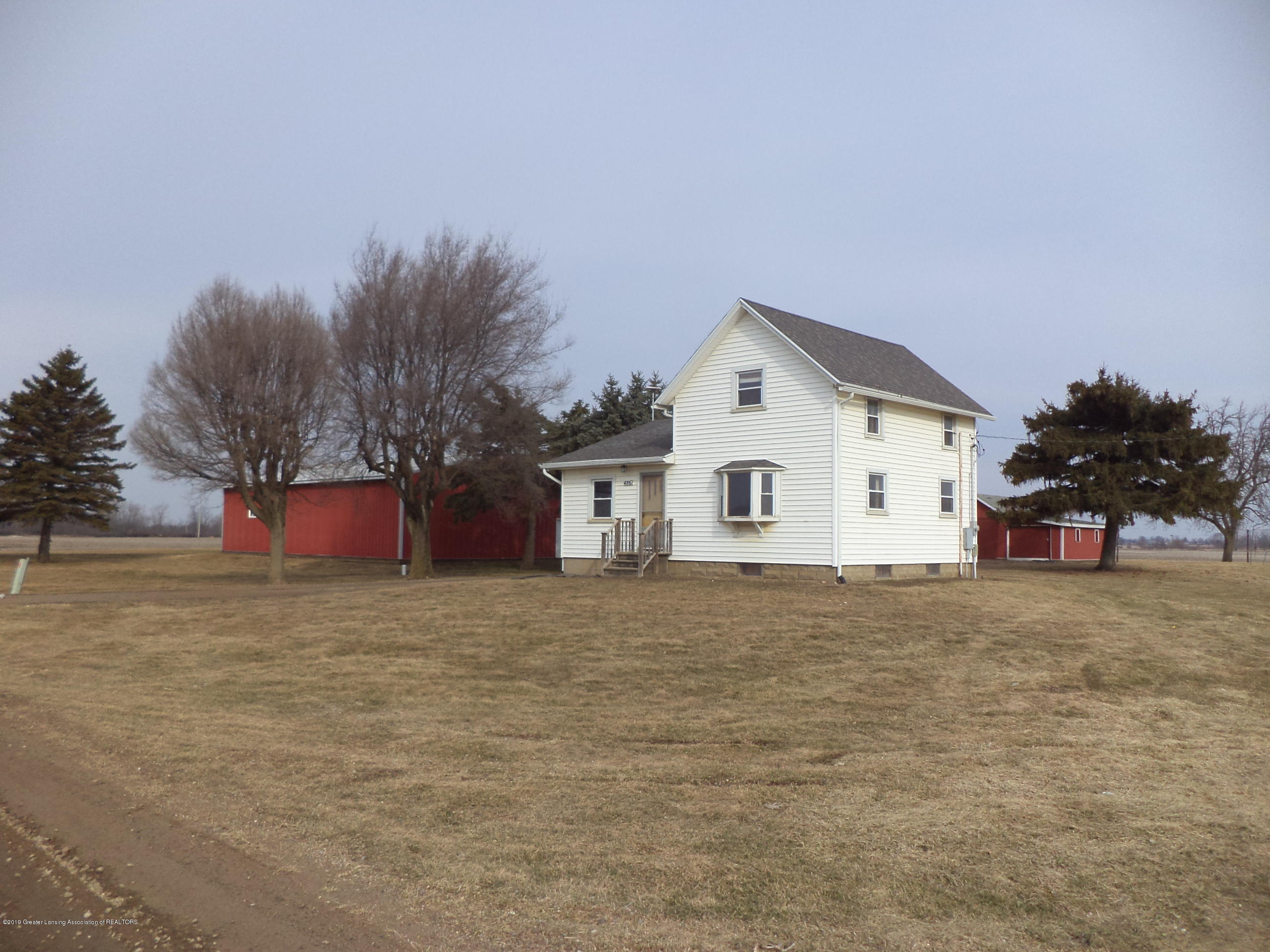 4861 E Parks Rd - View from East - 2