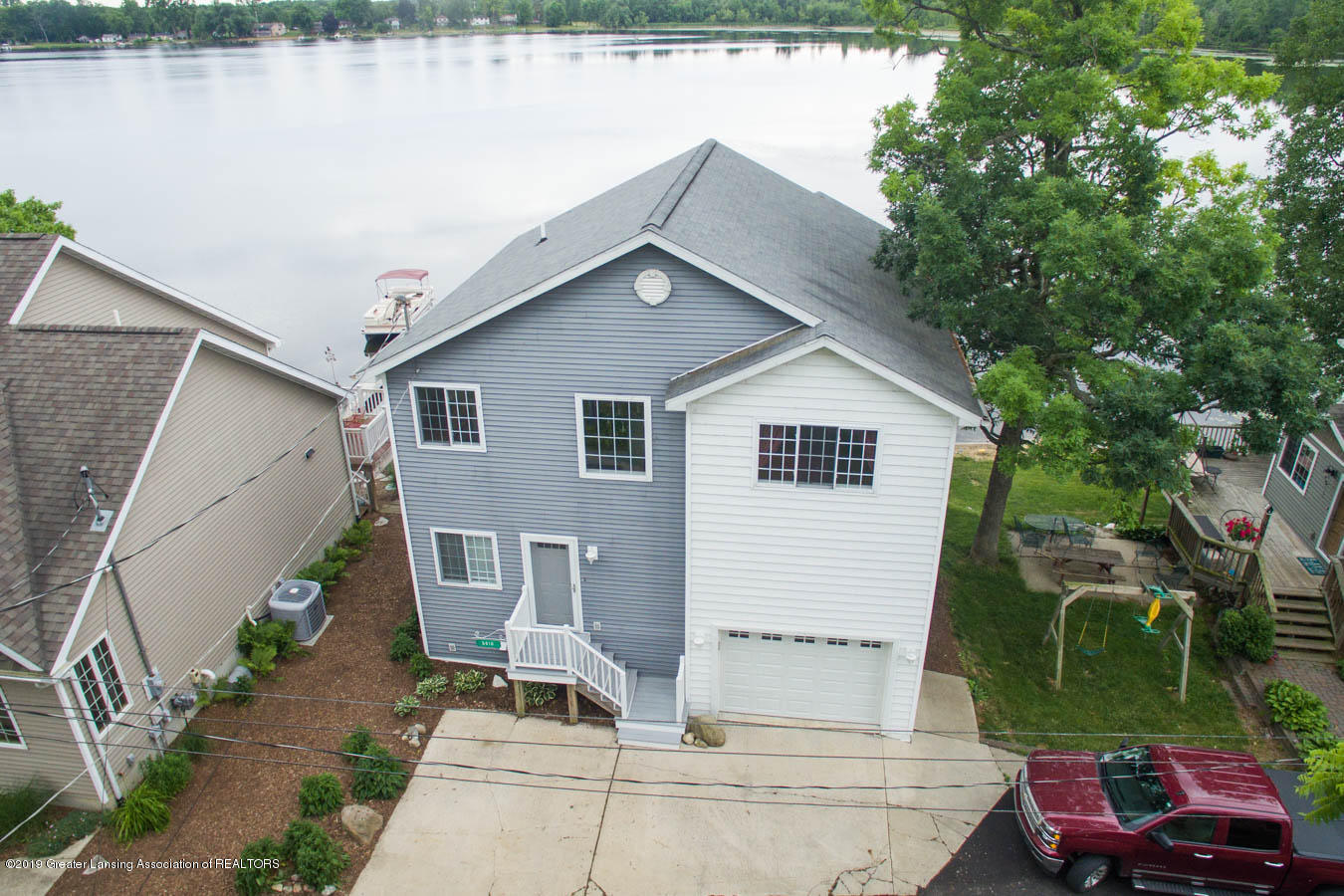 5910 Hickory Hill Dr - Aerial - Front View - 3