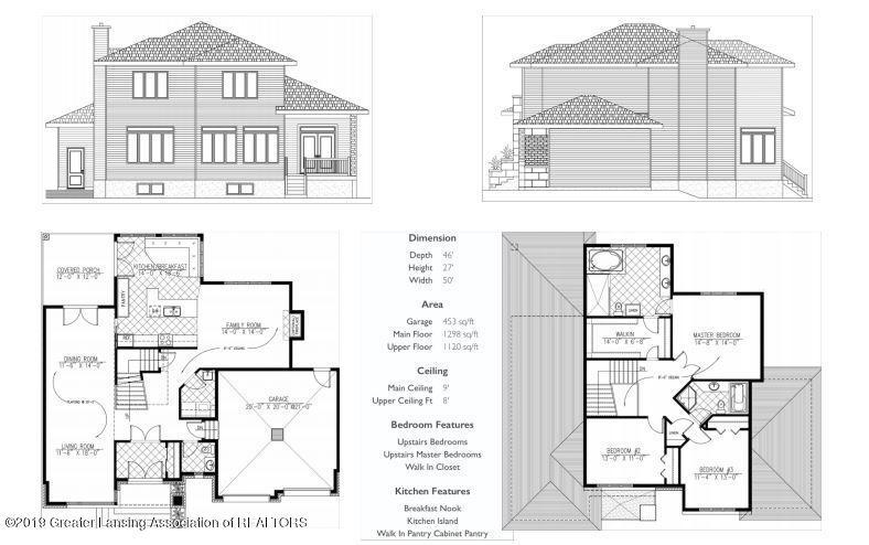 854 Touraine Ave - Proposed build - 3