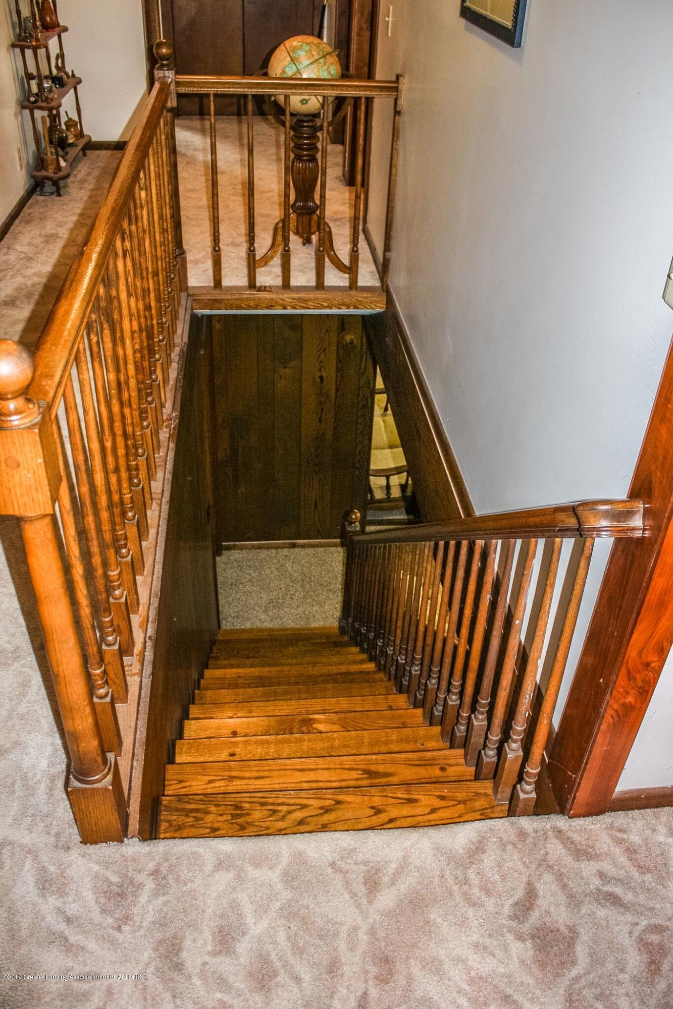 Stairwell to Lower Level