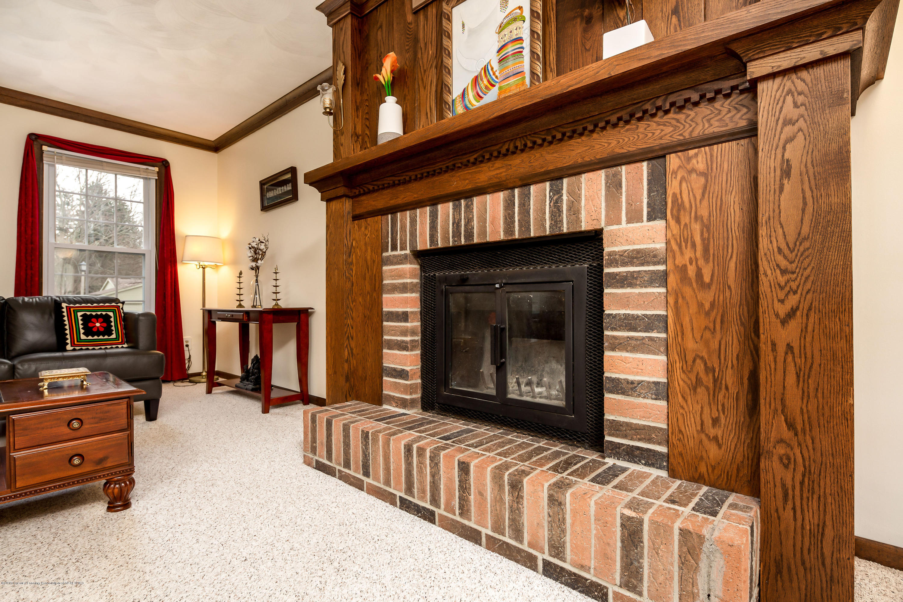 1710 Country View Dr - Wood burning fireplace - 8