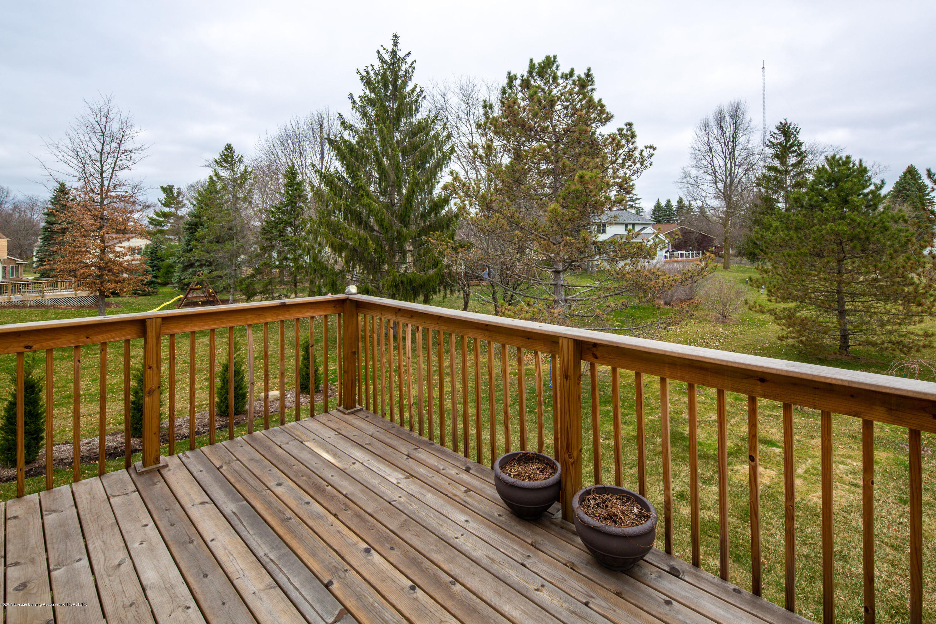 1710 Country View Dr - Deck overlooking yard - 28