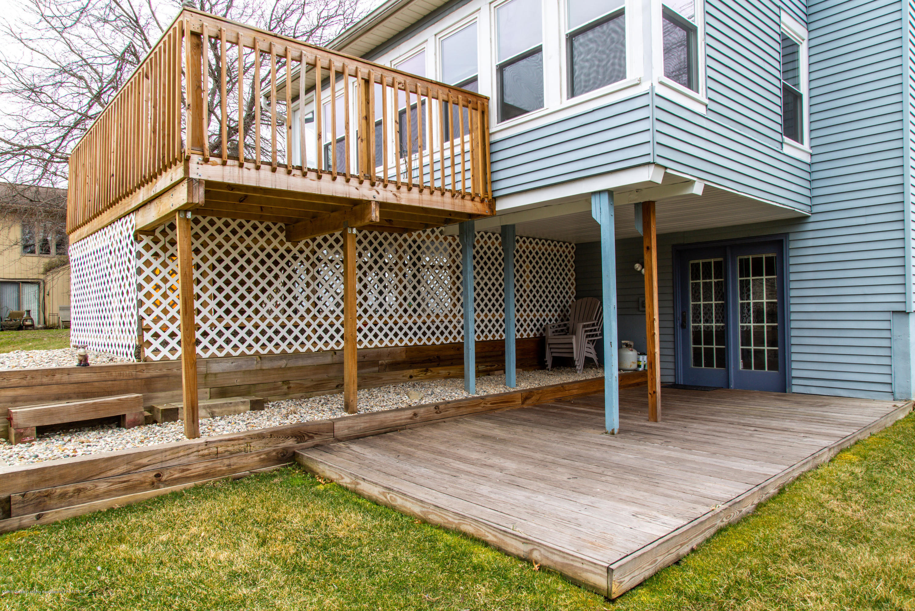 1710 Country View Dr - Covered deck area - 33