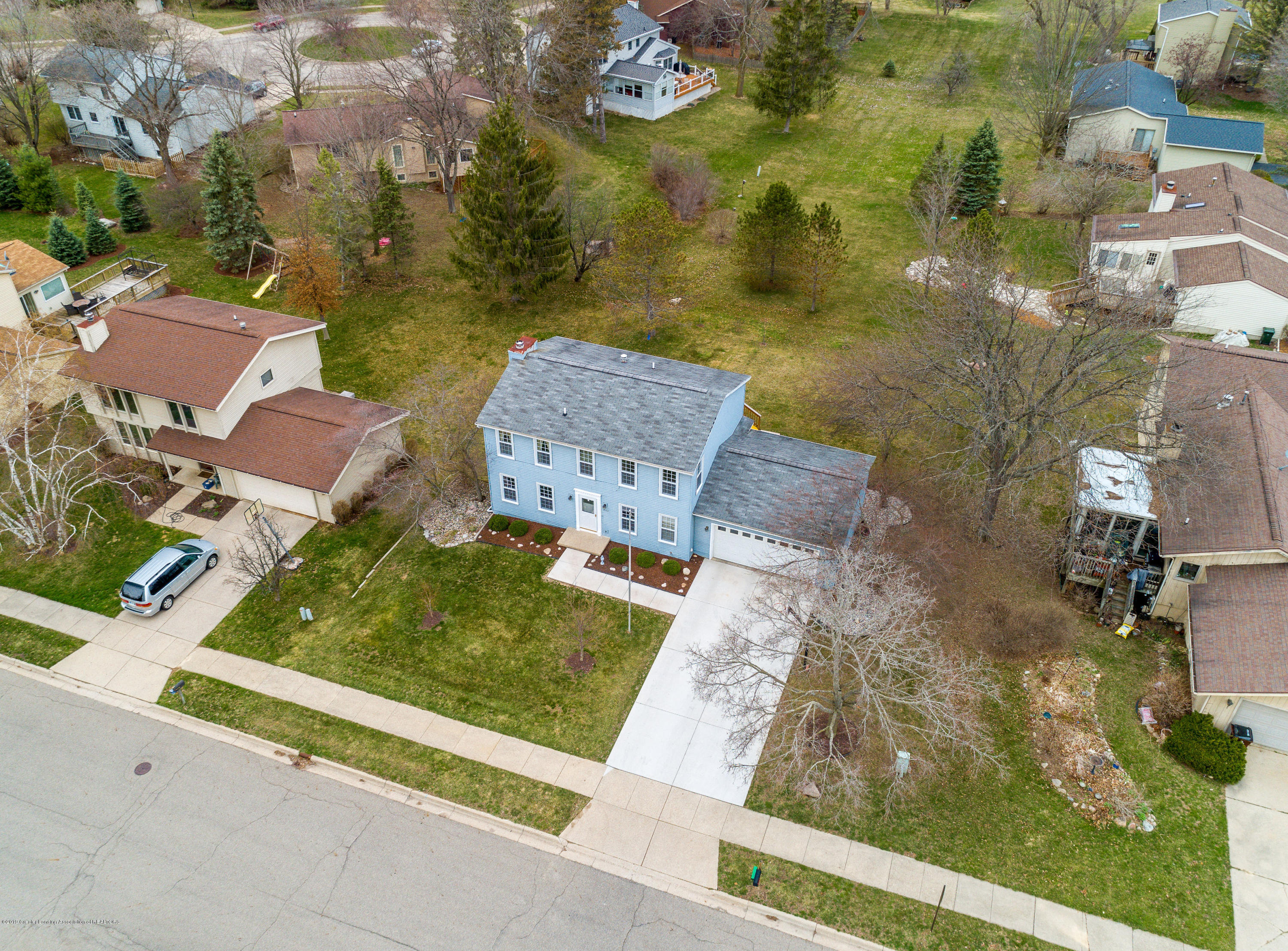 1710 Country View Dr - Aerial View - 2