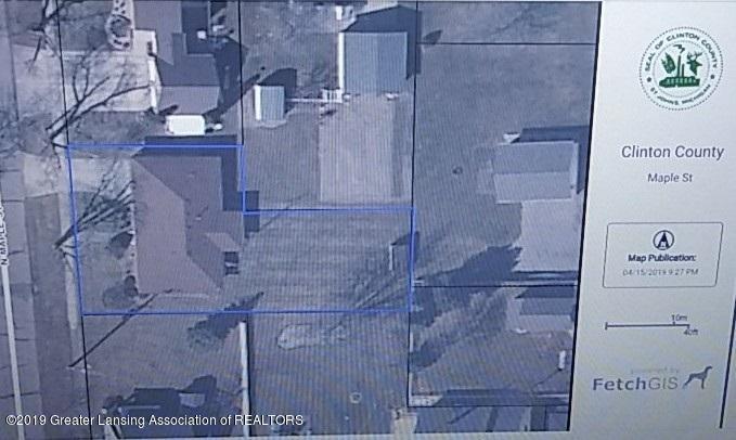 436 N Maple St - Lot Outline - 21