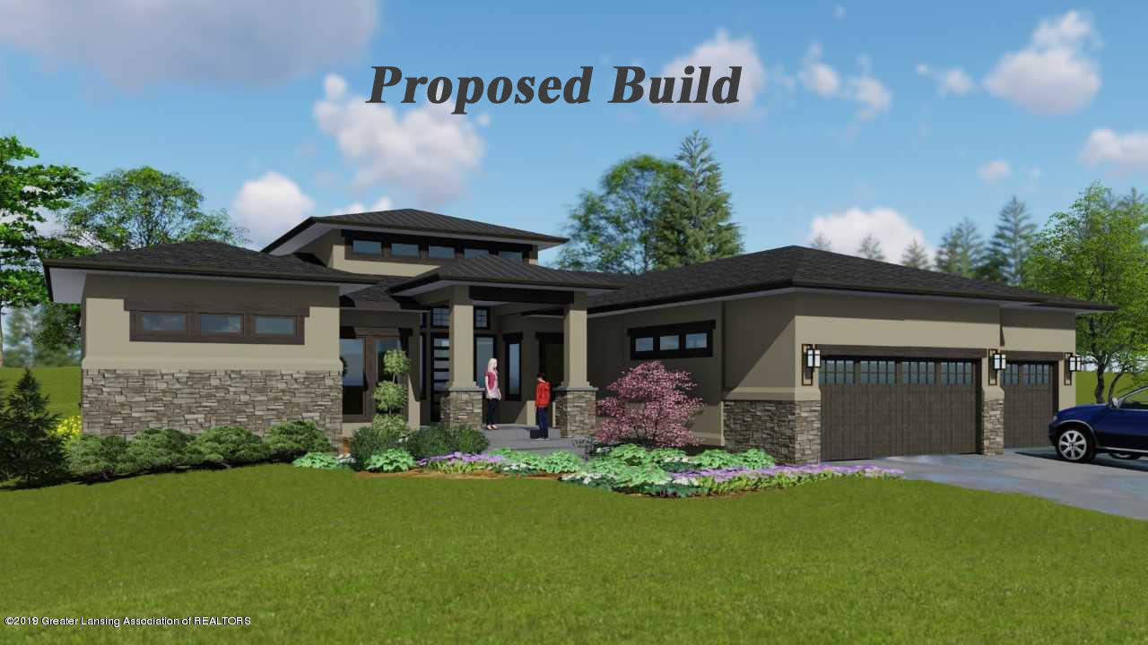 6161 Whitehills Lake Dr - Proposed Build - 1