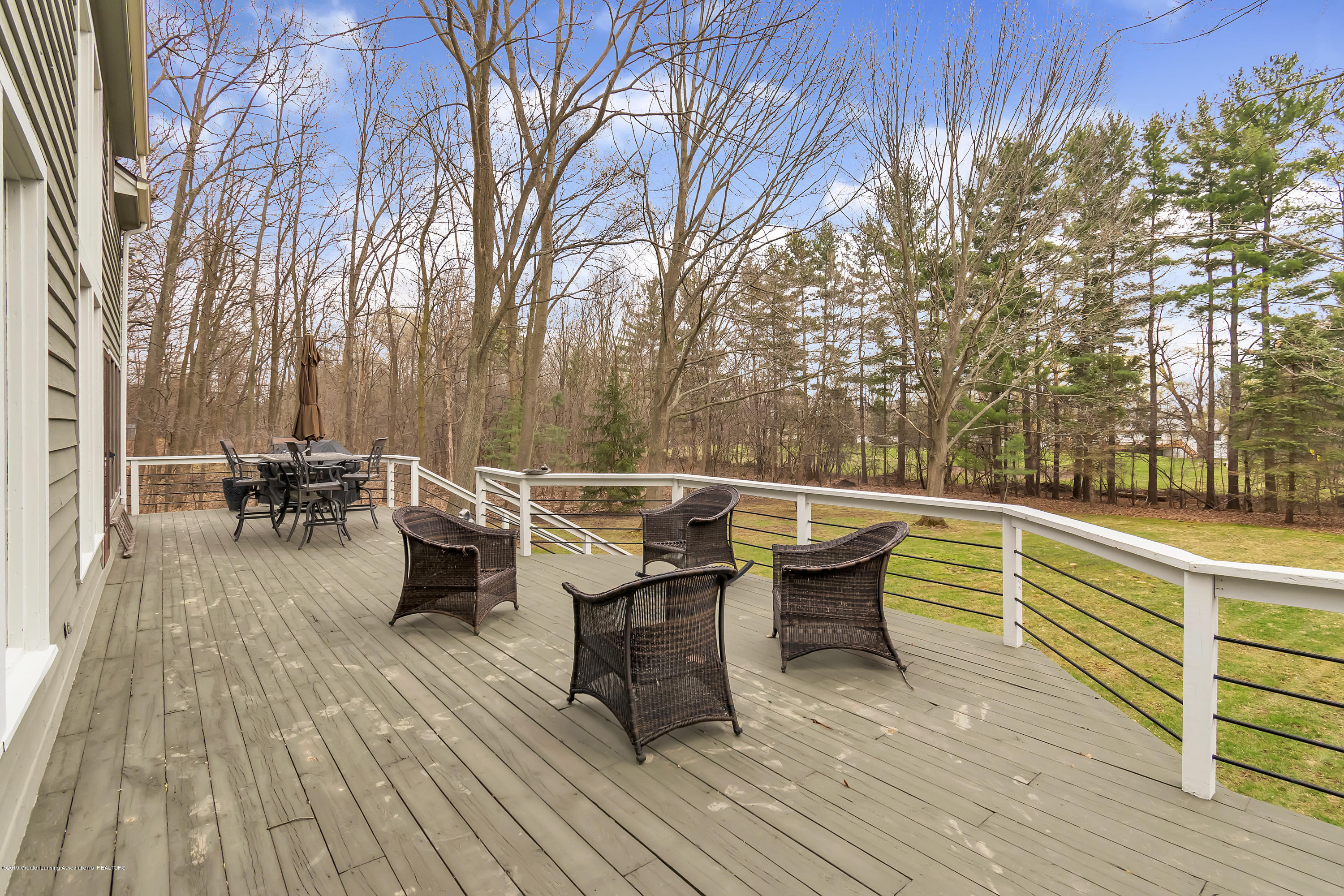 2423 Haslett Rd - Deck overlooking Yard - 30
