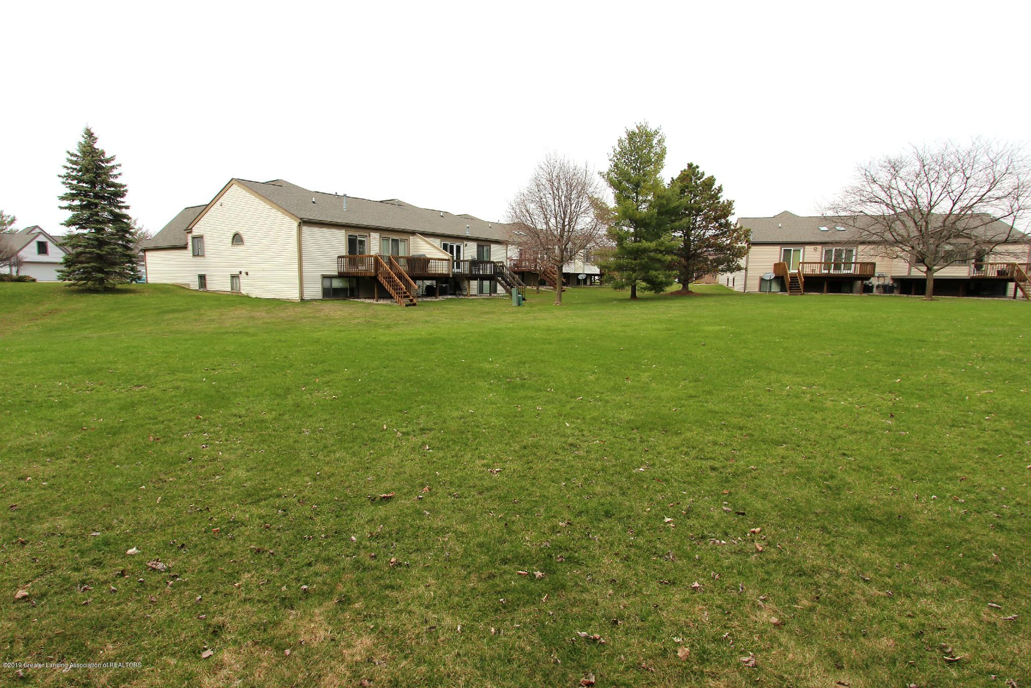 1111 Dillon Cir 57 - 26 Back Green Space - 26