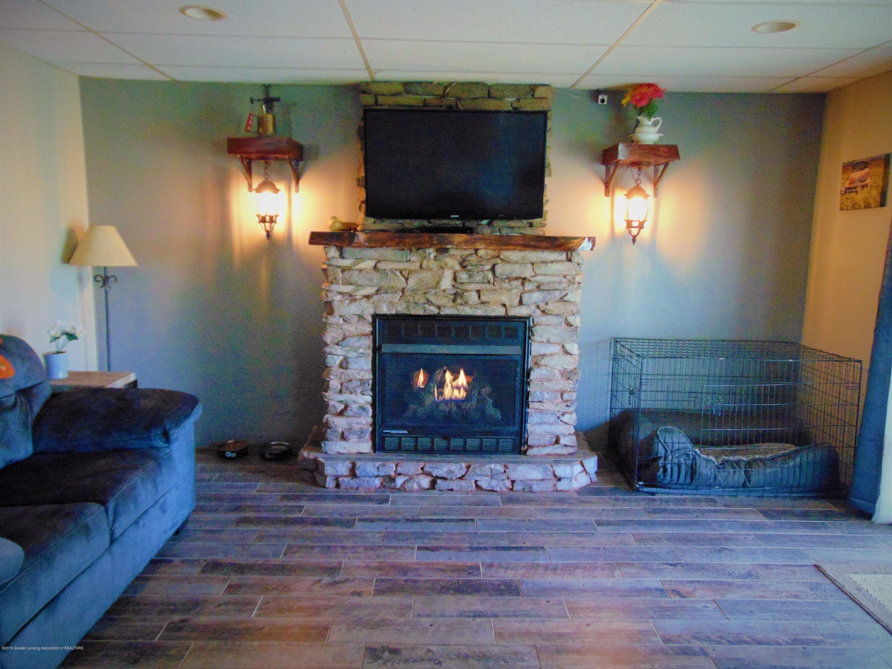 3104 Meadow Brook Rd - basement fireplace - 23