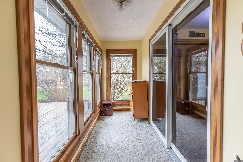6465 W Maple Rapids Rd - Sunroom entrance - 13