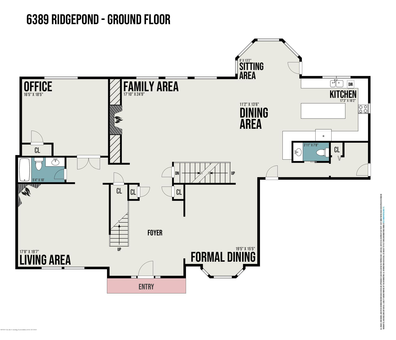 6389 Ridgepond Dr - Floor Plan 2 - 88