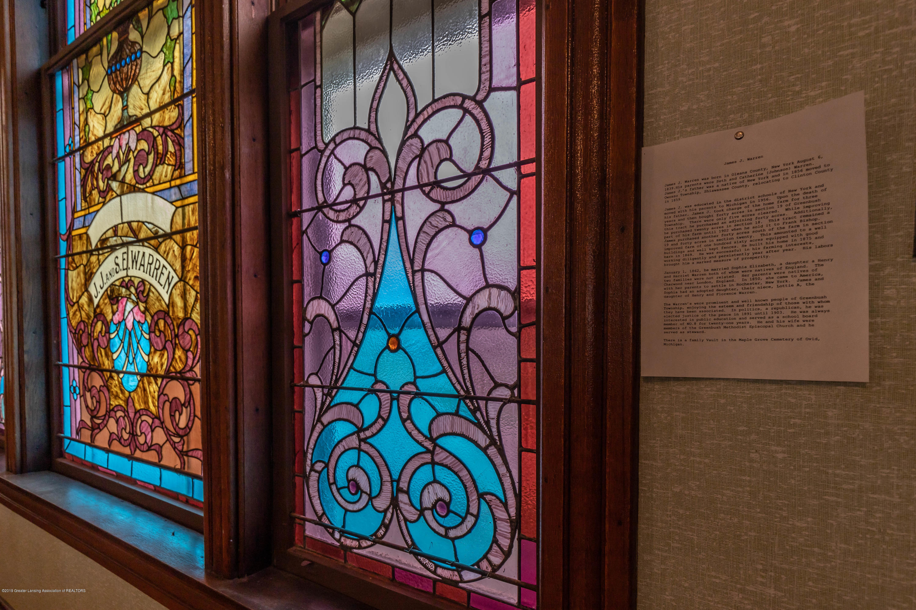 6505 N Scott Rd - Stained Glass - 15