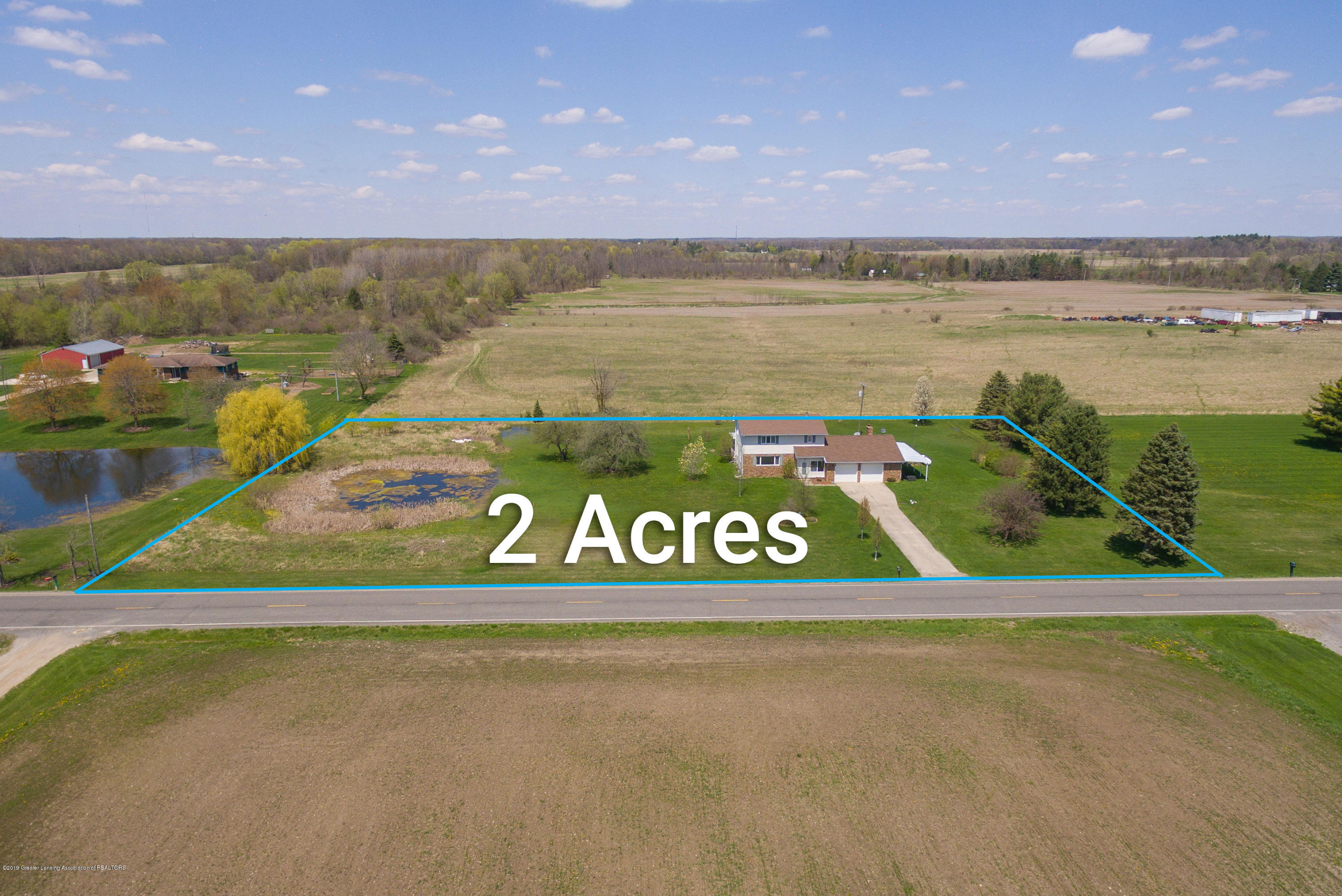 415 Holt Rd - 2 acres on paved road - 3
