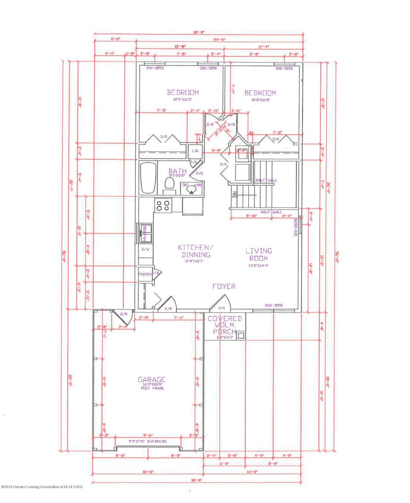 300 E Miller Rd - plan 1 - 3