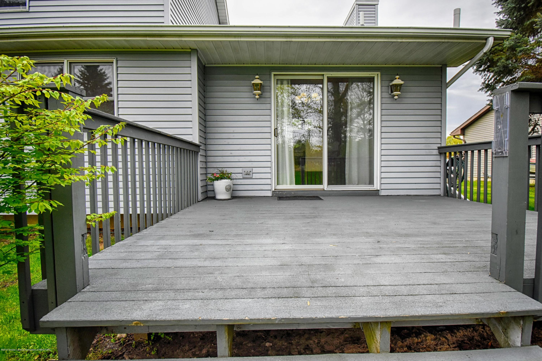 2417 Bush Gardens Ln - Back Deck - 8