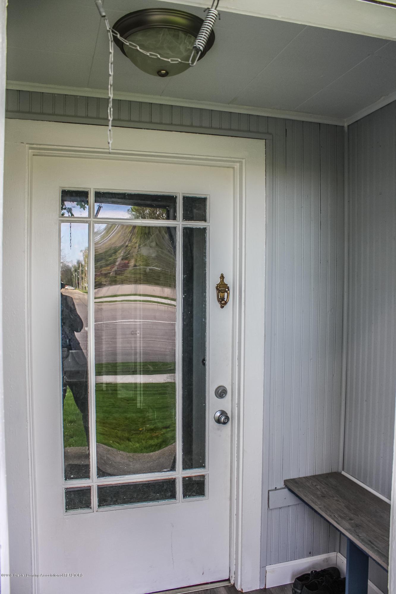 825 N Hagadorn Rd - Front Door - 2