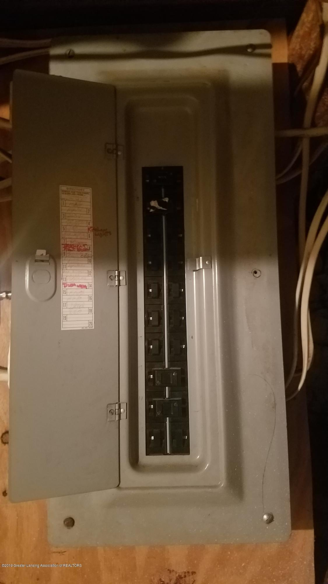 314 N Sheldon St - ELECTRIC PANEL - 20