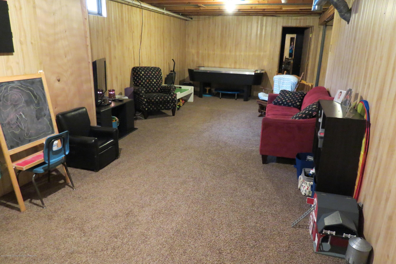 8657 E Maple Rapids Rd - Basement Family Room - 26