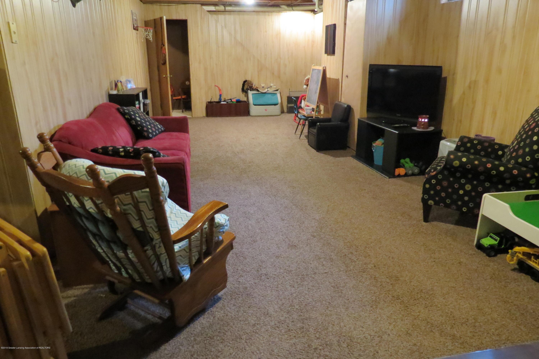 8657 E Maple Rapids Rd - Basement Family Room - 27