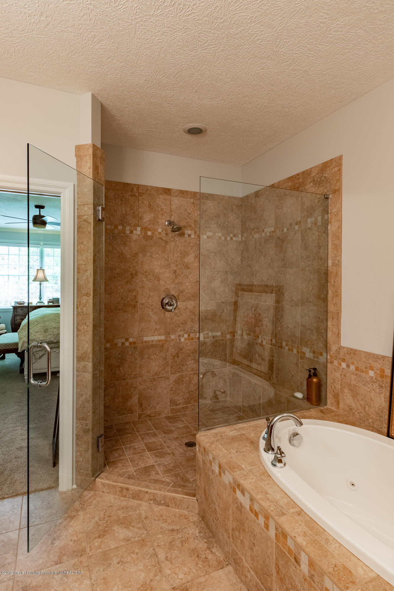 6155 Graebear Trail - Tiled walk-in shower - 29