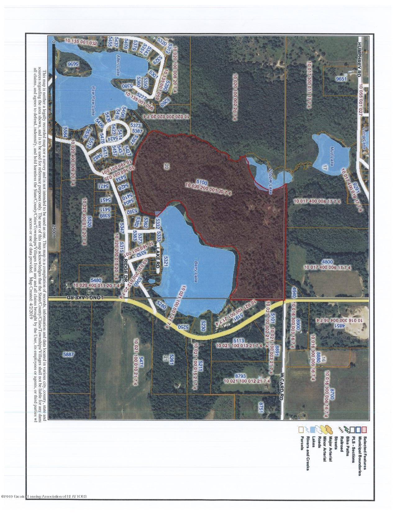 5100 Long Lake Rd - Long Lake ariel view - 1