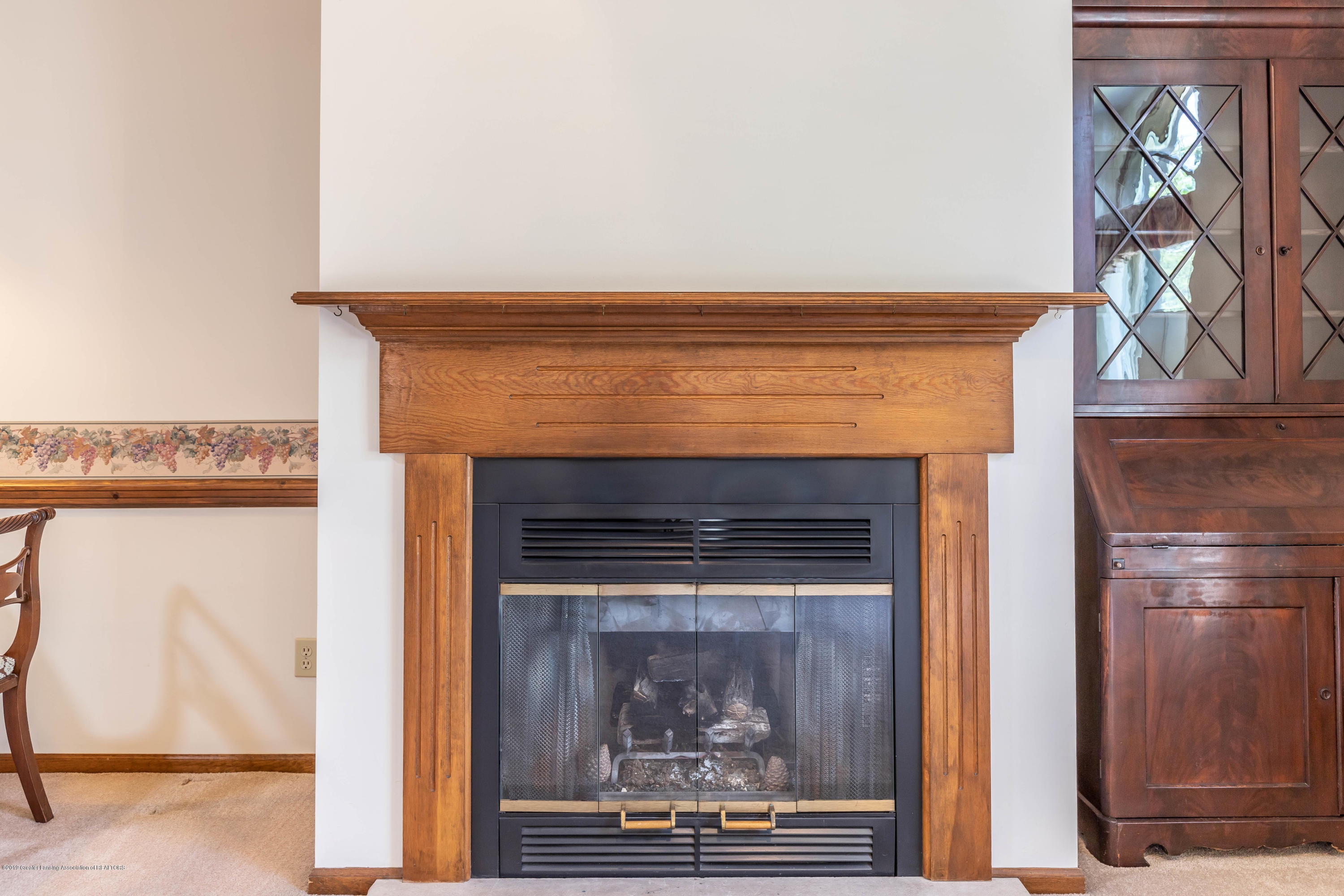 2801 Trudy Ln Unit 7 - Living Room Fireplace - 10