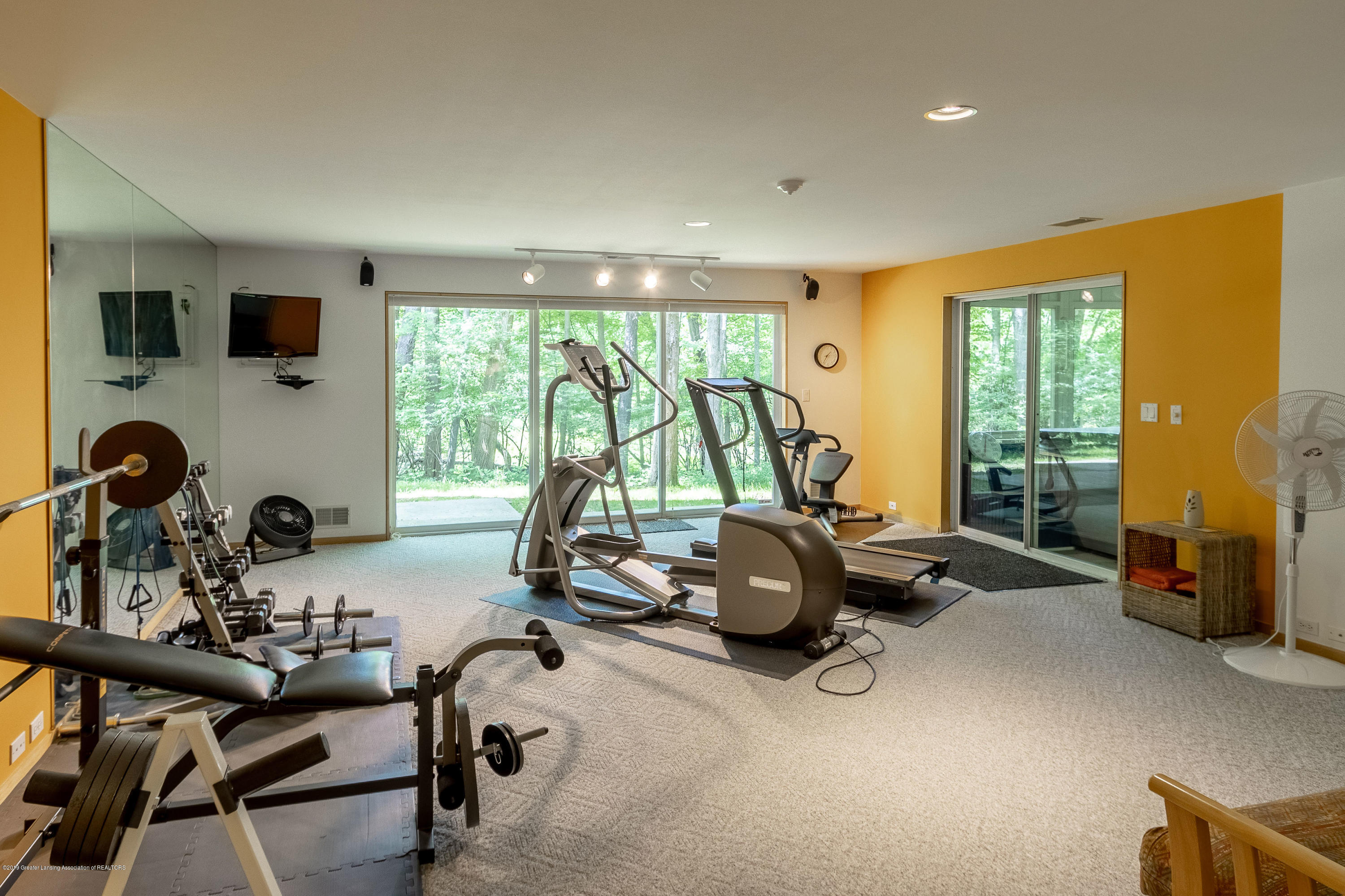 4435 Oak Pointe Ct - LL Exercise Room - 77