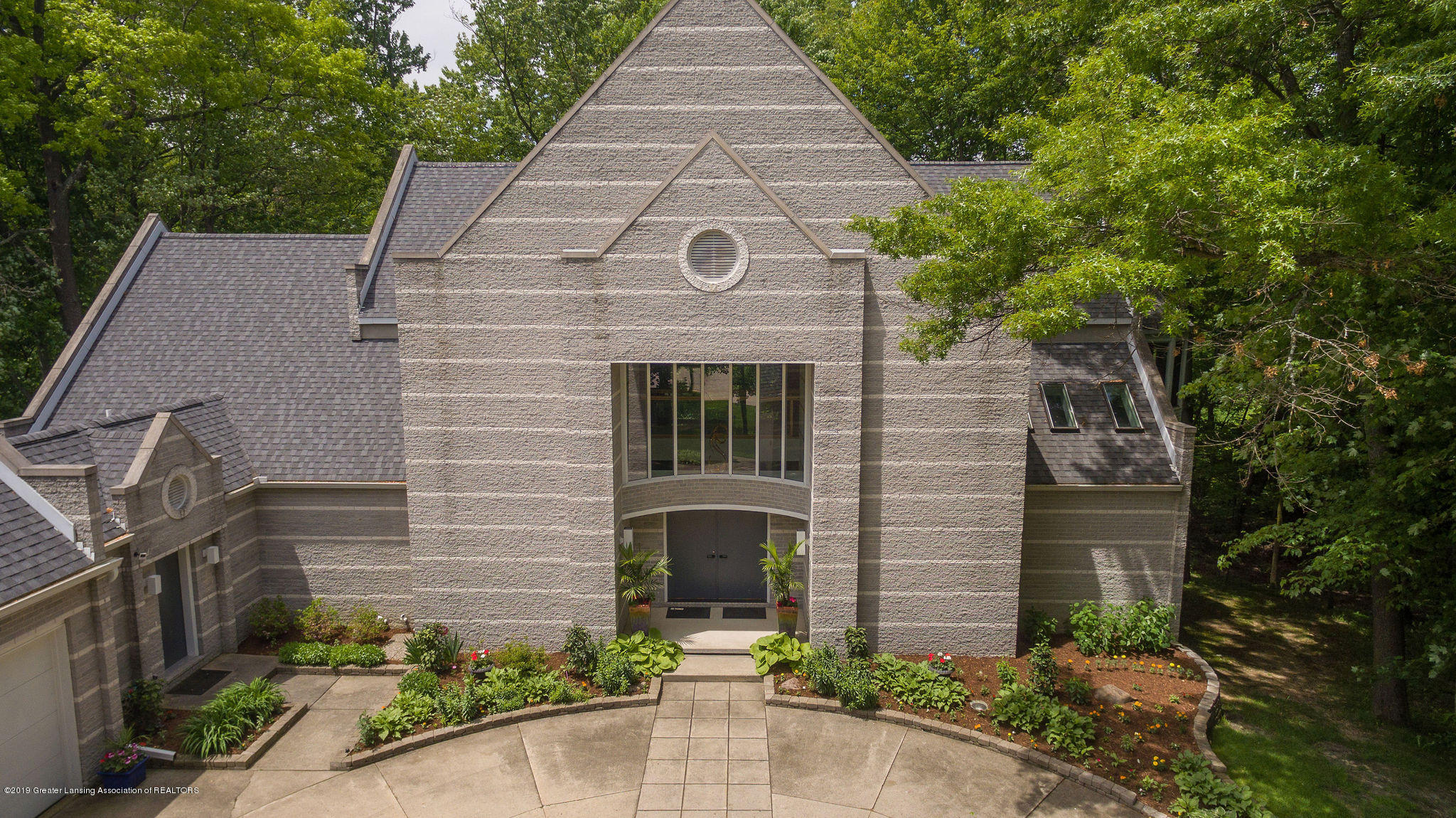 4435 Oak Pointe Ct - Aerial Front - 6