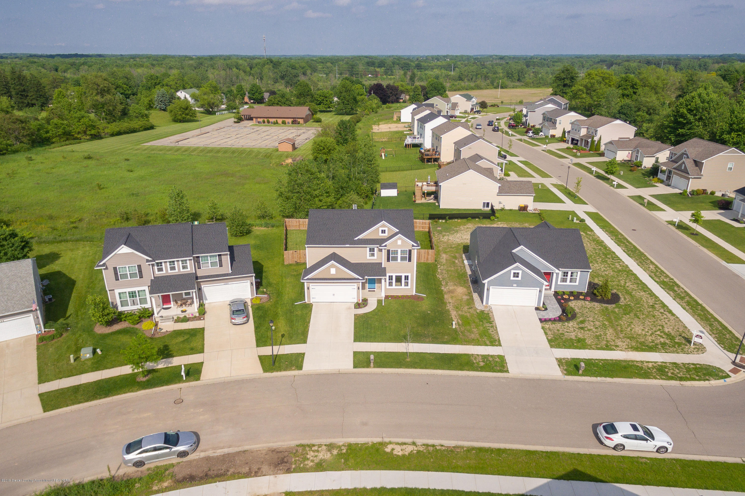 3574 Beal Ln - Aerial Front View - 45
