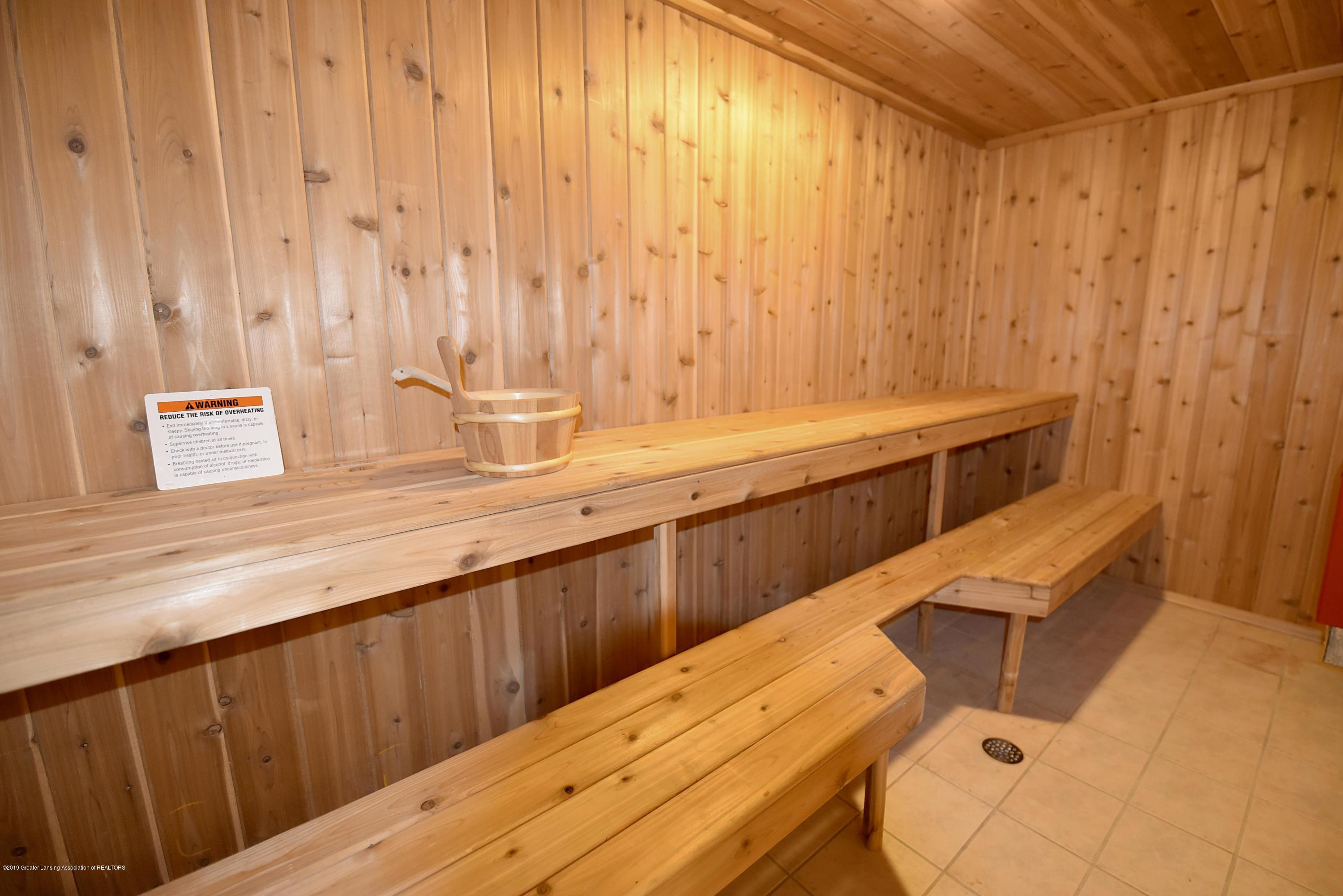 3300 Hollow Spring Dr - Lower level Sauna with shower - 45