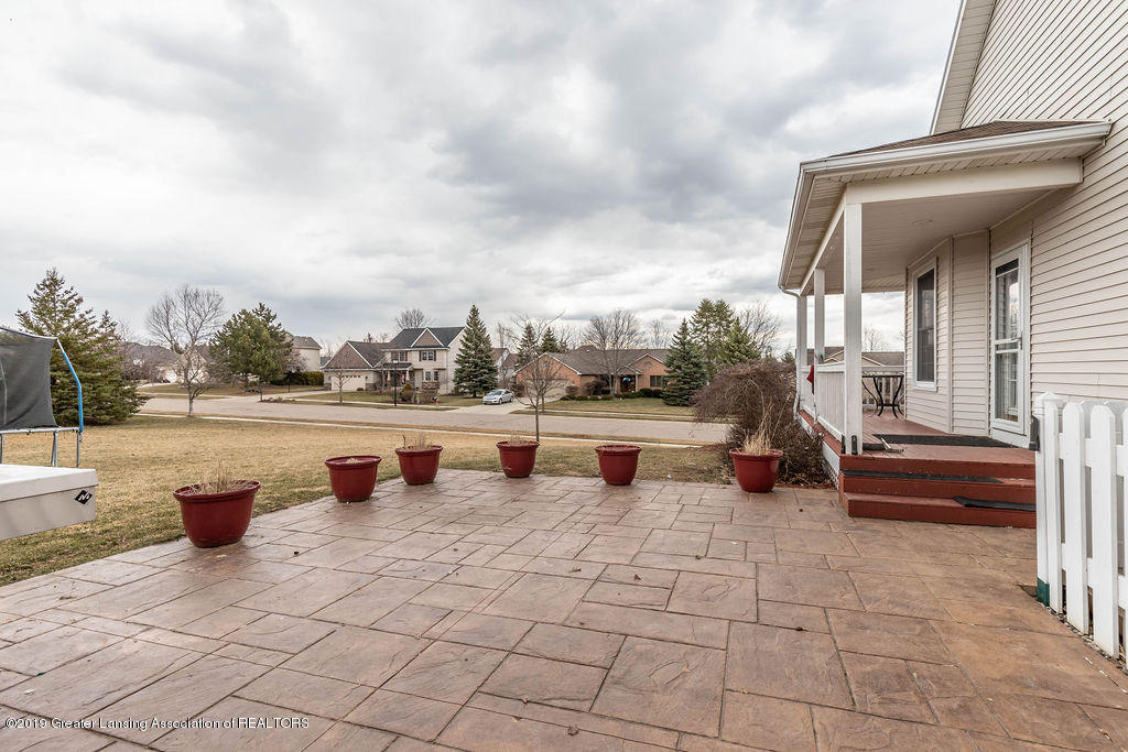 3300 Hollow Spring Dr - Stamped patio - 57