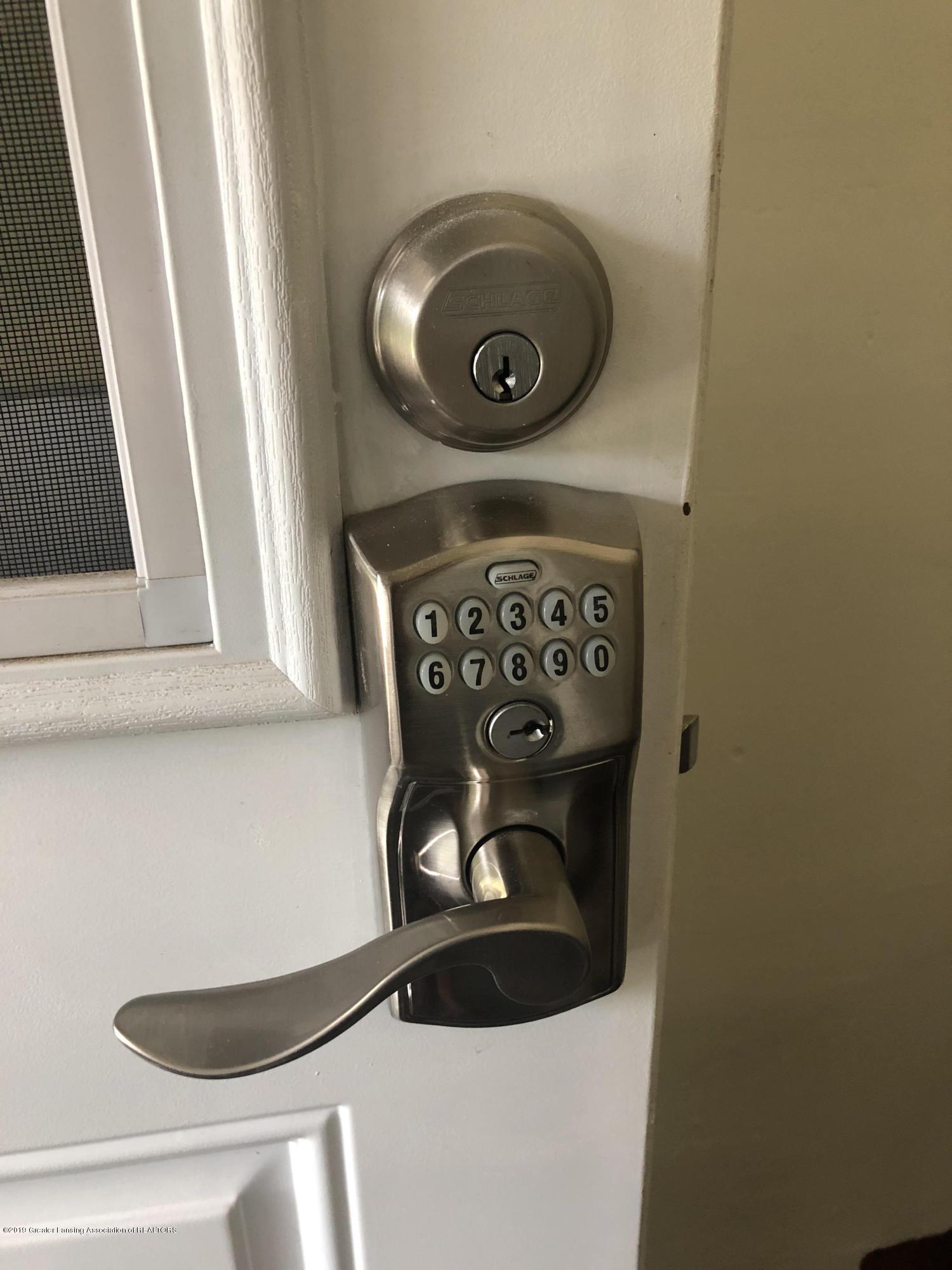 807 Dunlap St - keyless lock - 2
