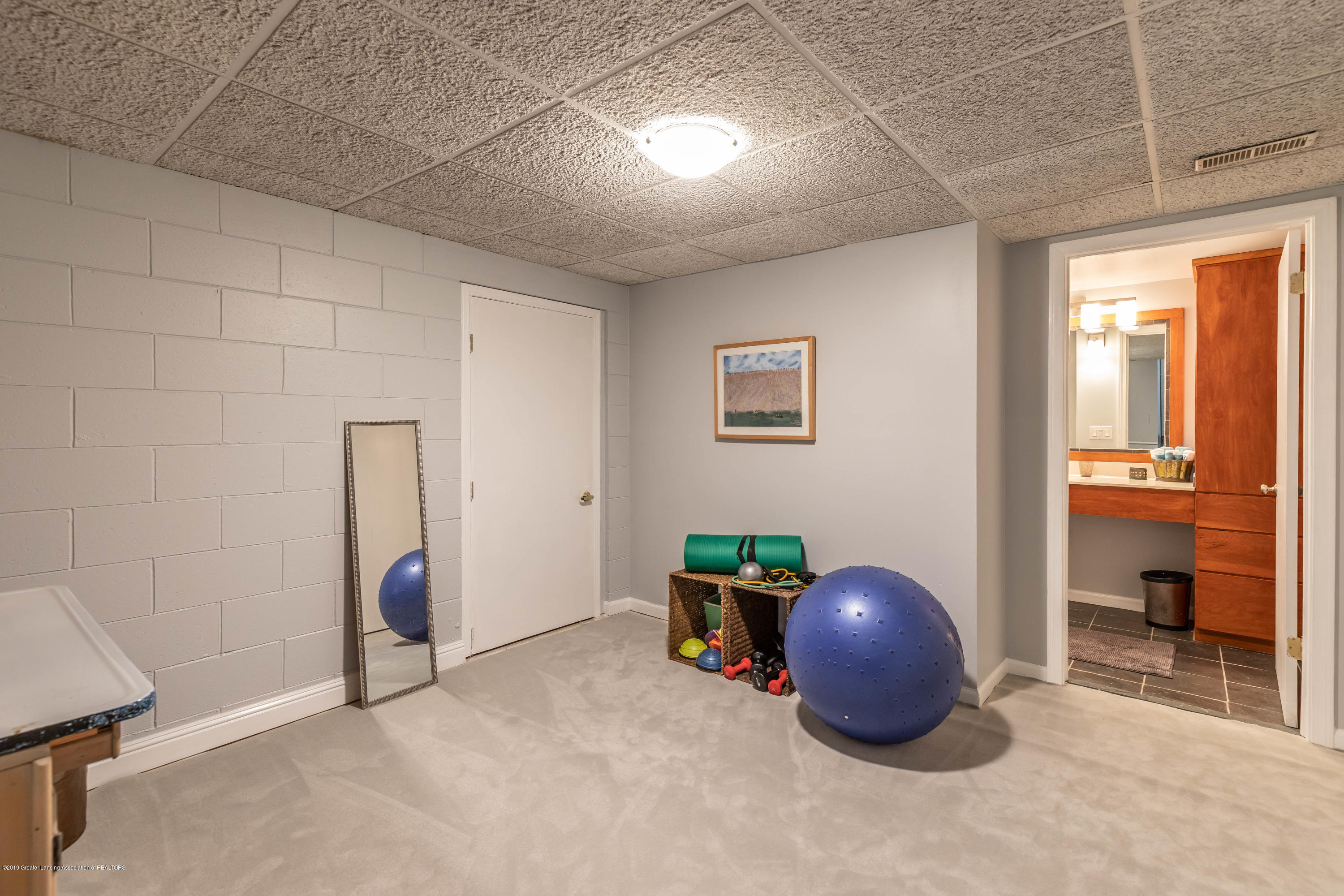 882 Shawano Dr - 23. Basement Exercise room - 28