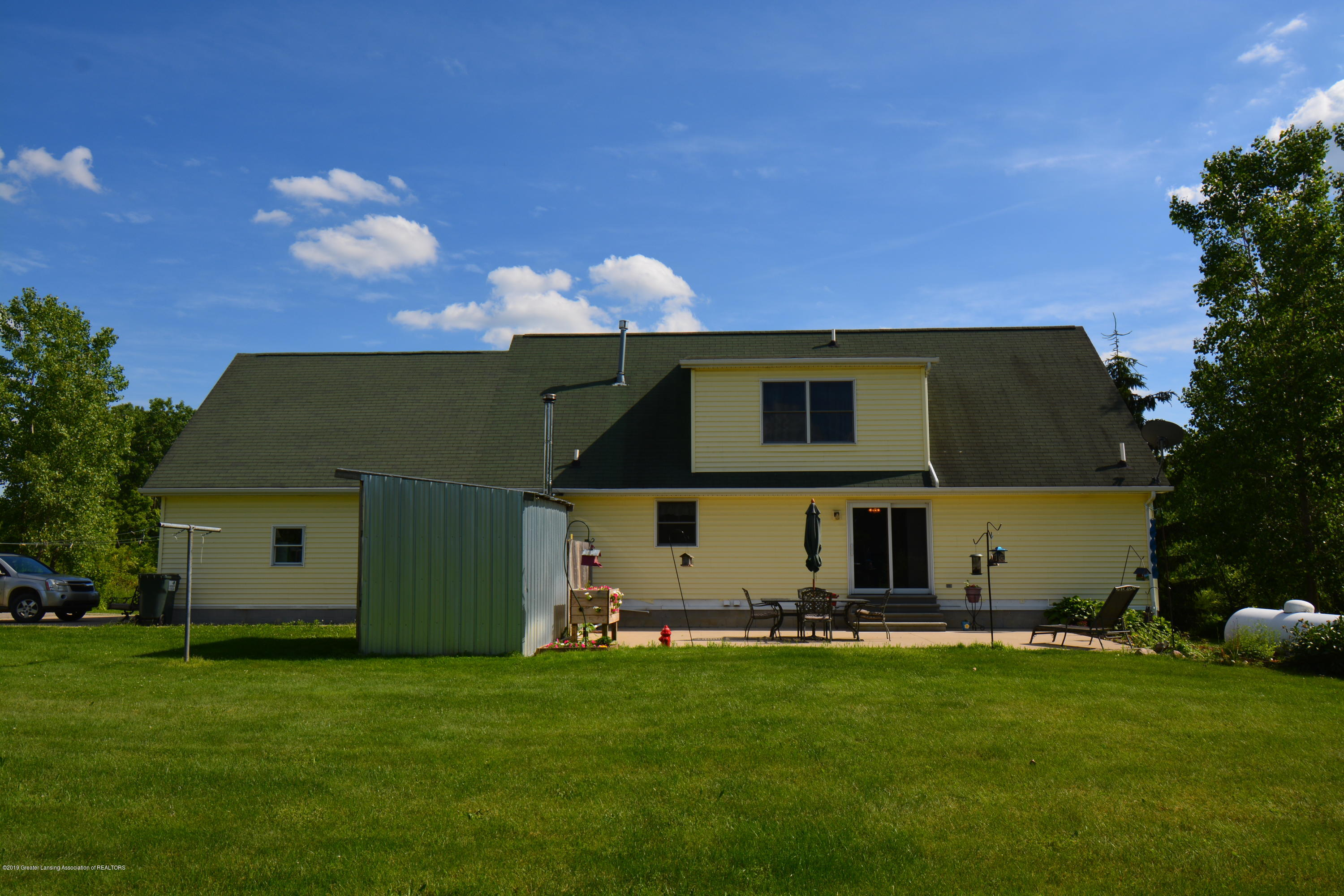 7459 Rossman Hwy - Back of Home - 3