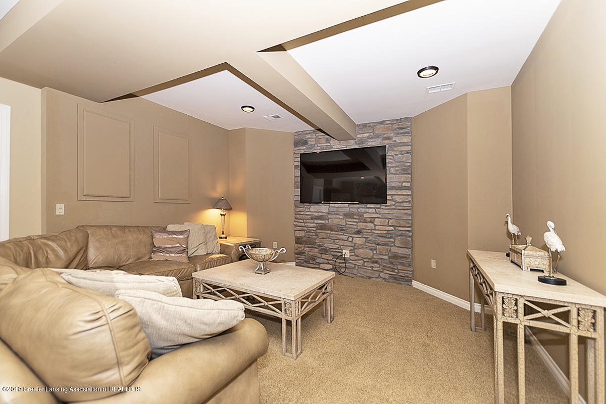 6268 Mereford Ct - Lower Level Theatre Room - 64