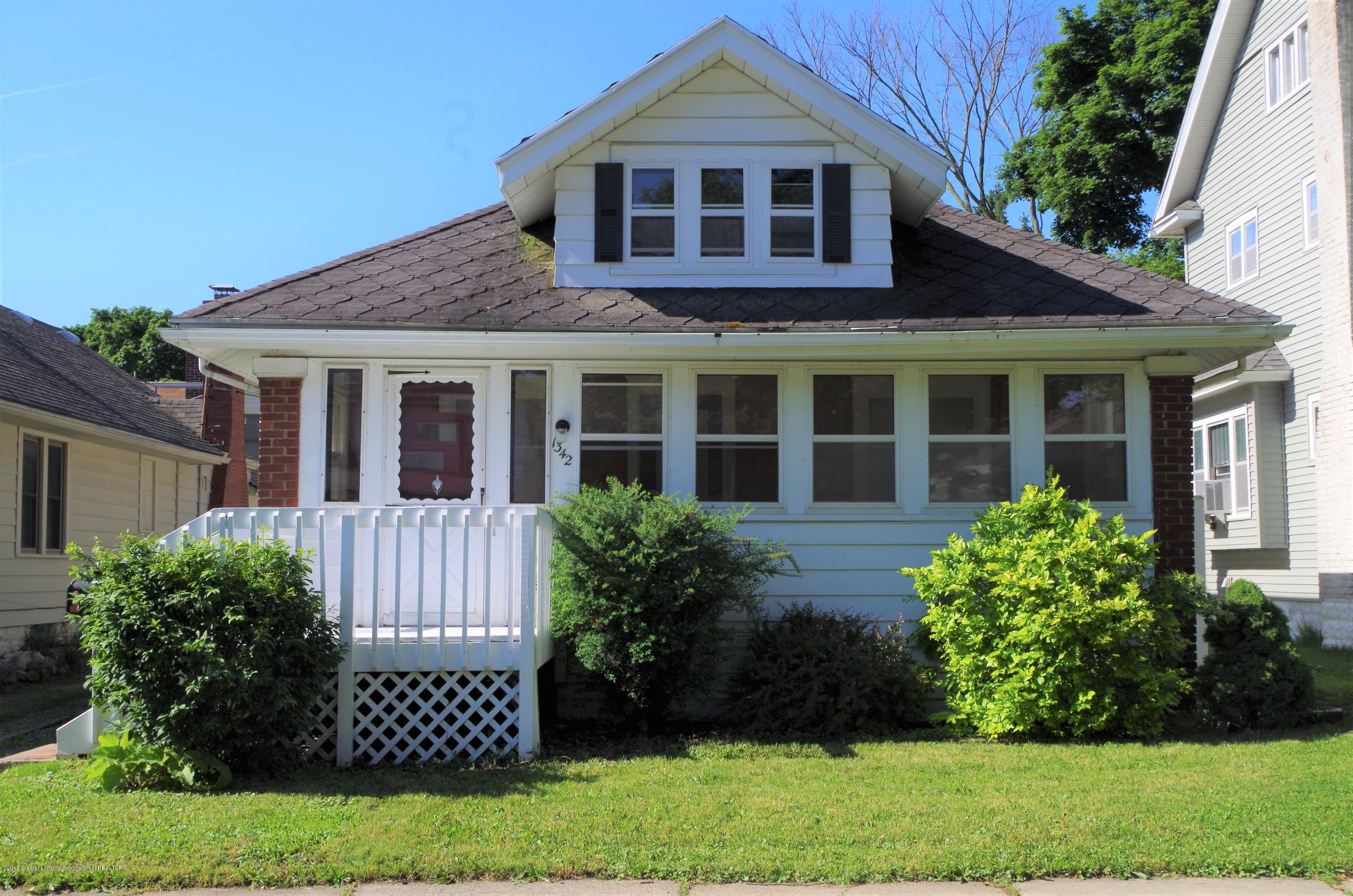 1342 Eureka St - Front View - 2