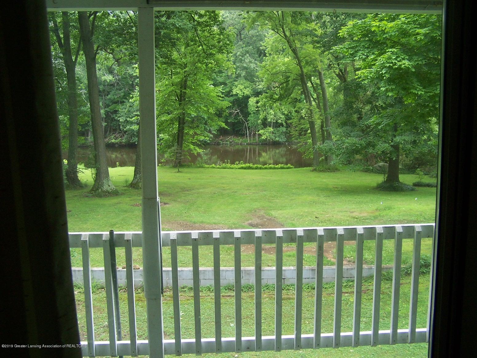 10007 Vfw Rd - Out the back window - 9