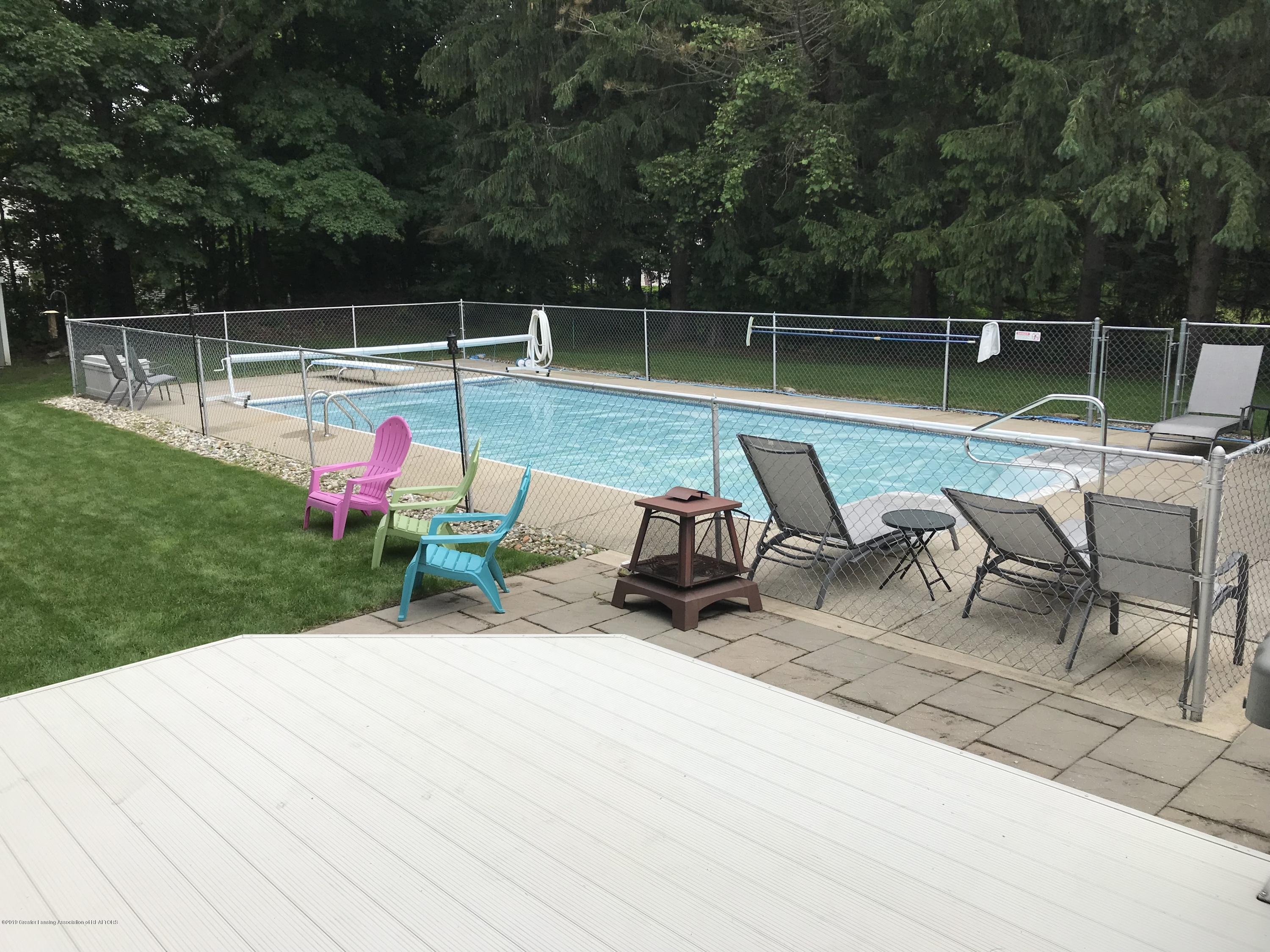 7205 Rock Bridge Rd - Pool from Deck - 8