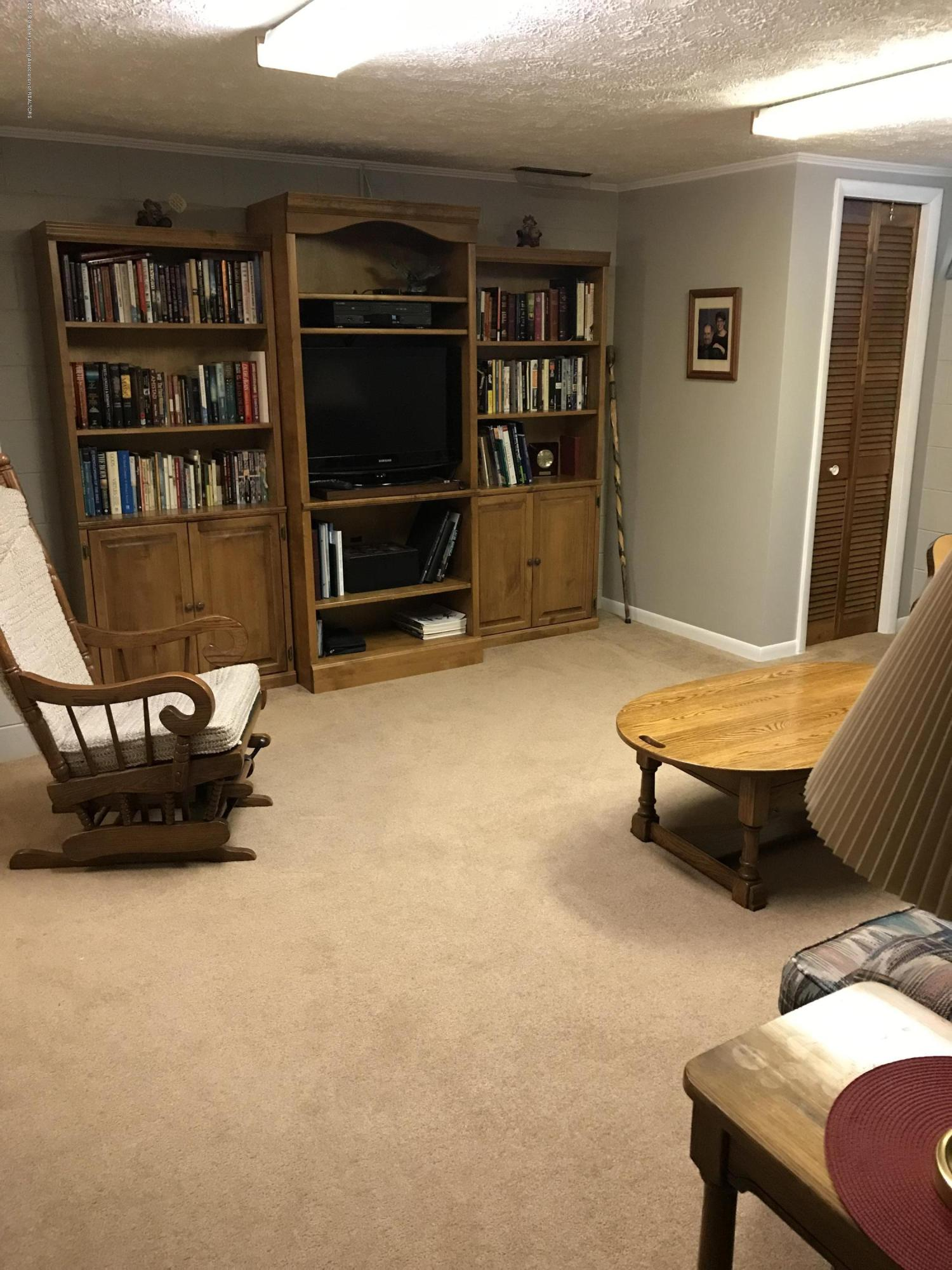 7205 Rock Bridge Rd - great room in basement - 52