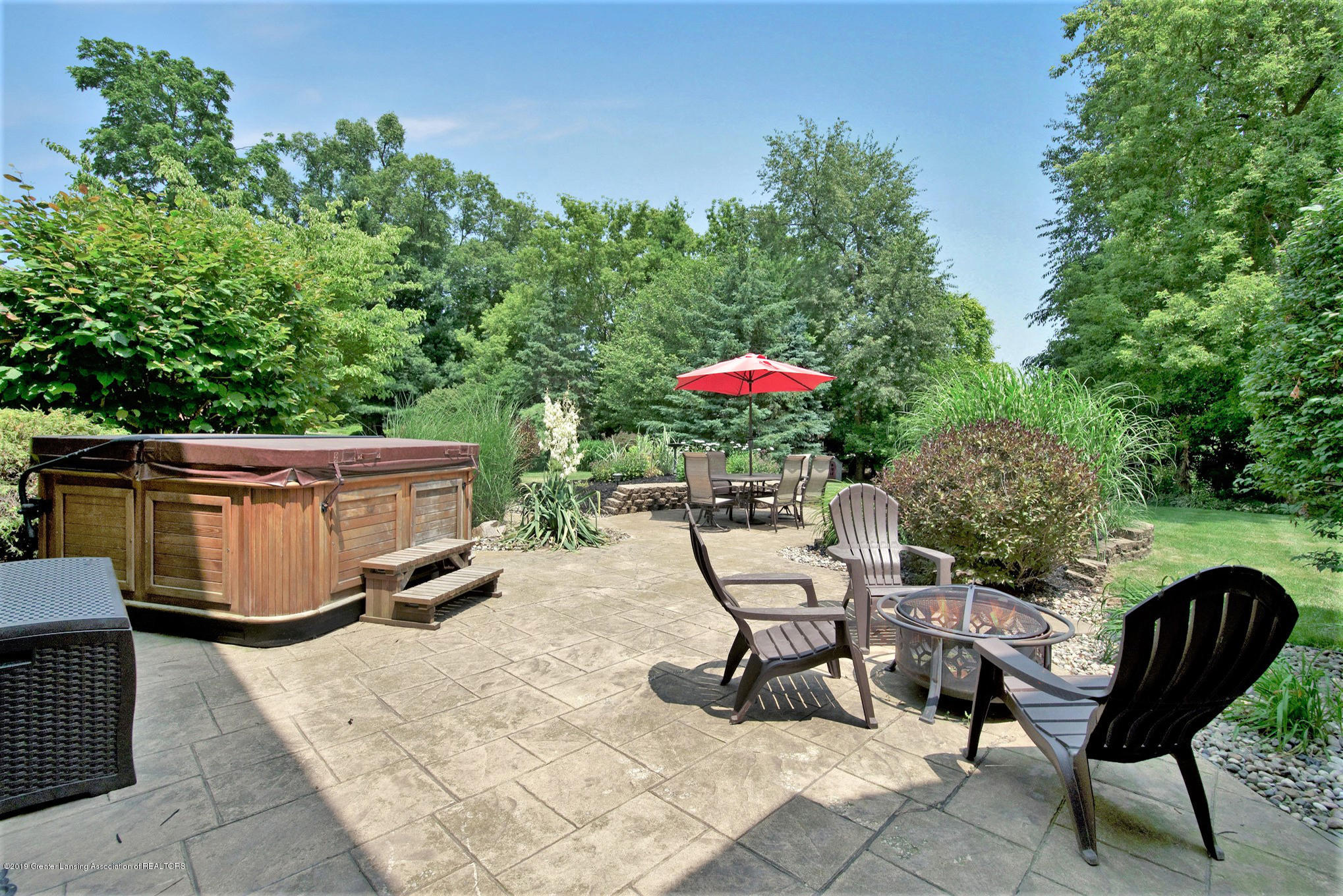 11801 Schavey Rd - Patio with Hot Tub - 44