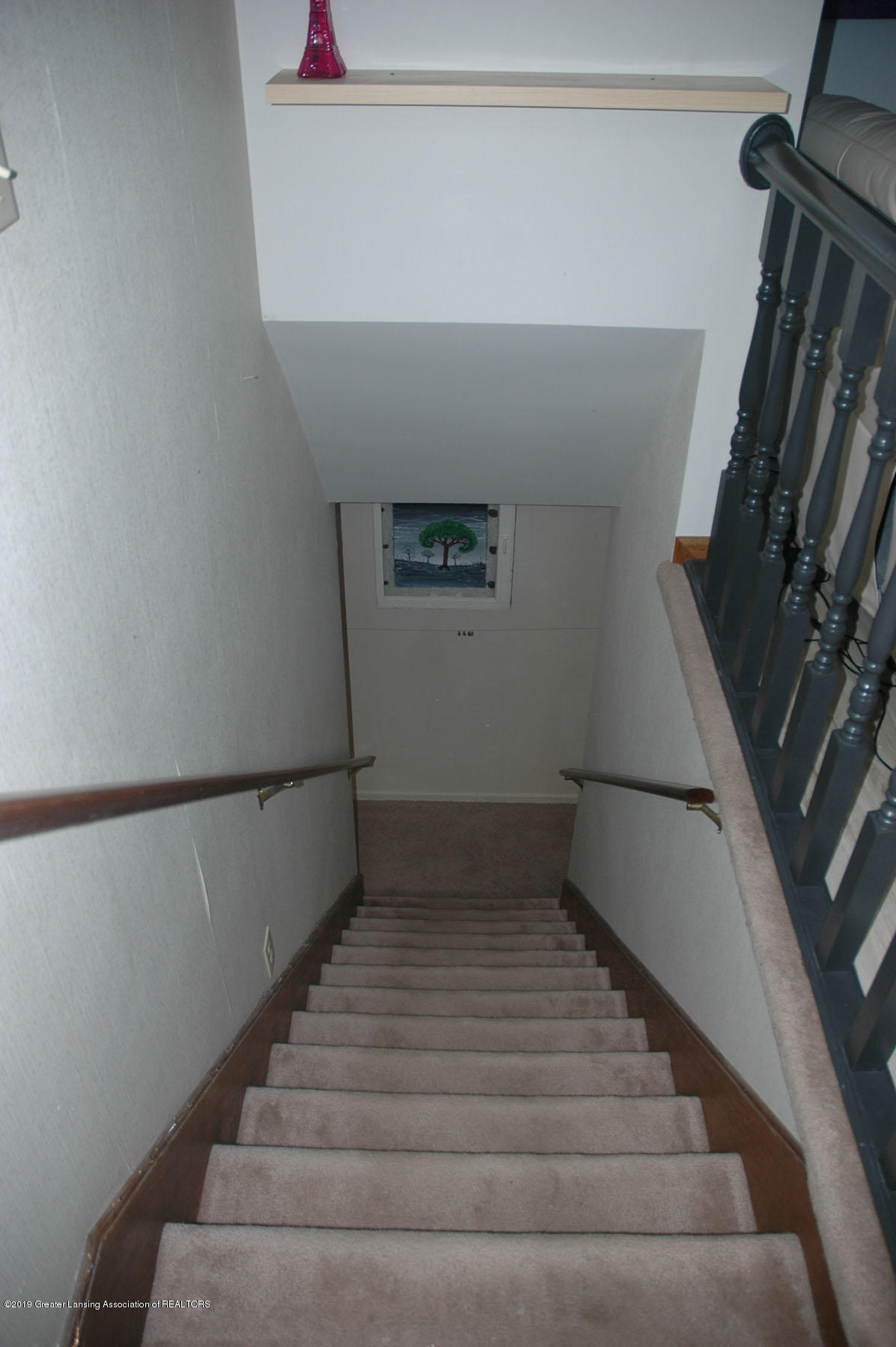 1971 N Michigan Rd - Stairs To Basement - 26