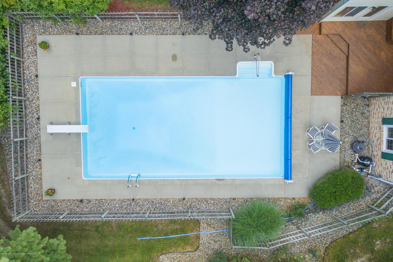 3901 Highwood Pl - Aerial Pool - 64