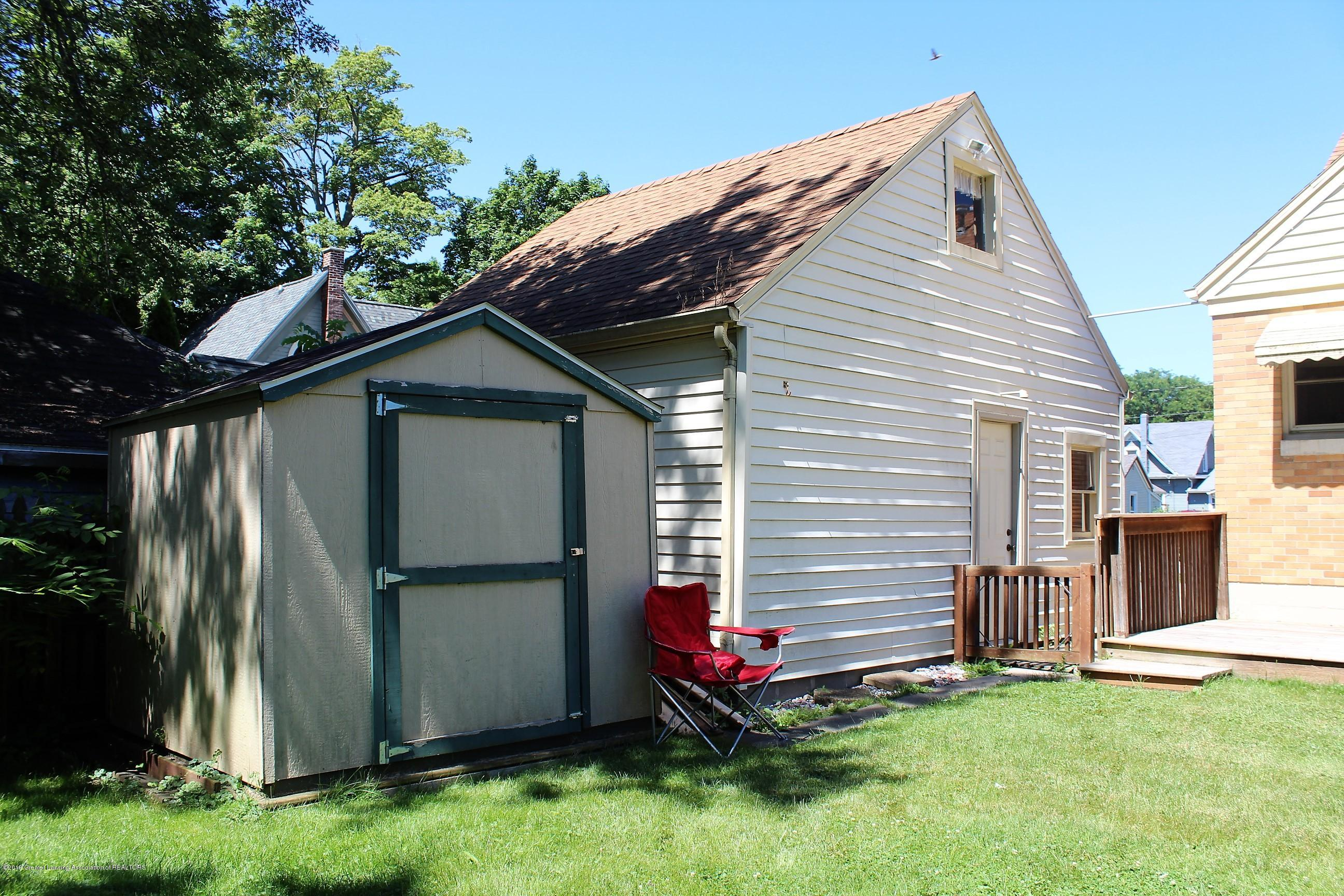 415 Park St - Shed and Garage - 28