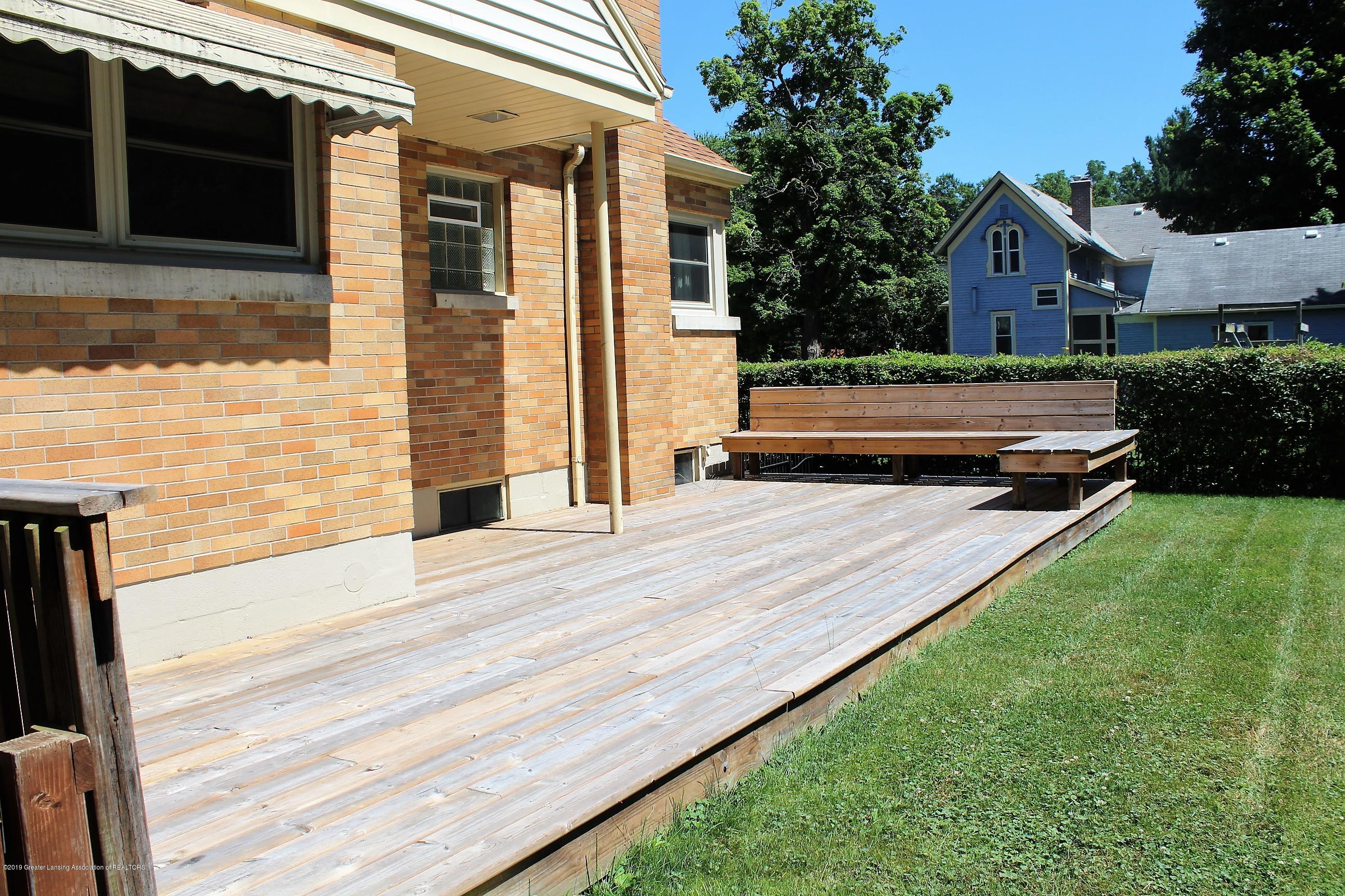 415 Park St - Back Deck - 27