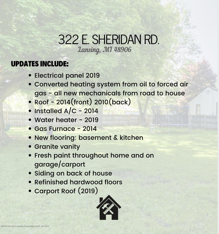 322 E Sheridan Rd - Updates - 12