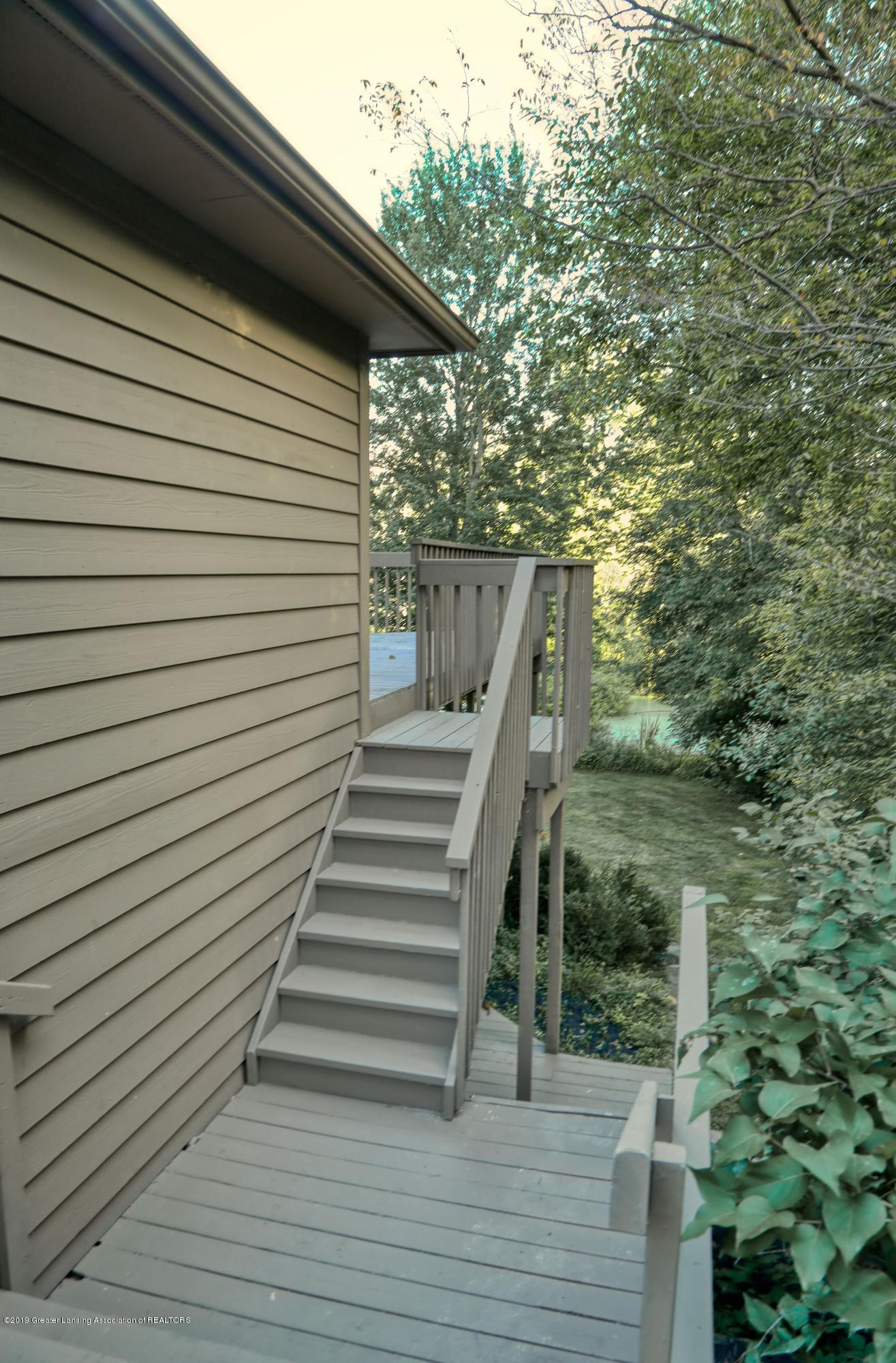 Exterior Stairs to Sunroom