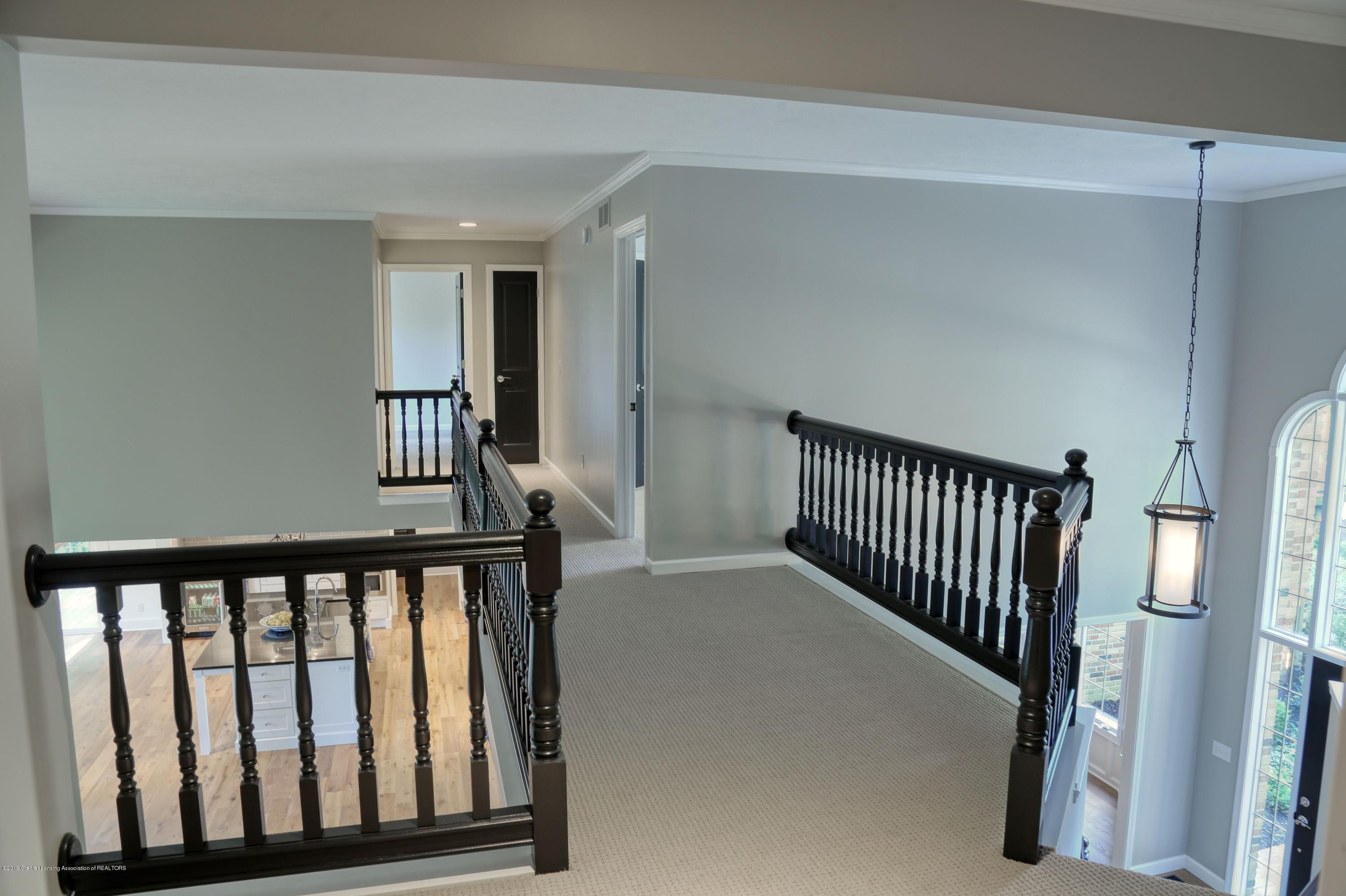 Hall to 2nd Floor Bedrooms