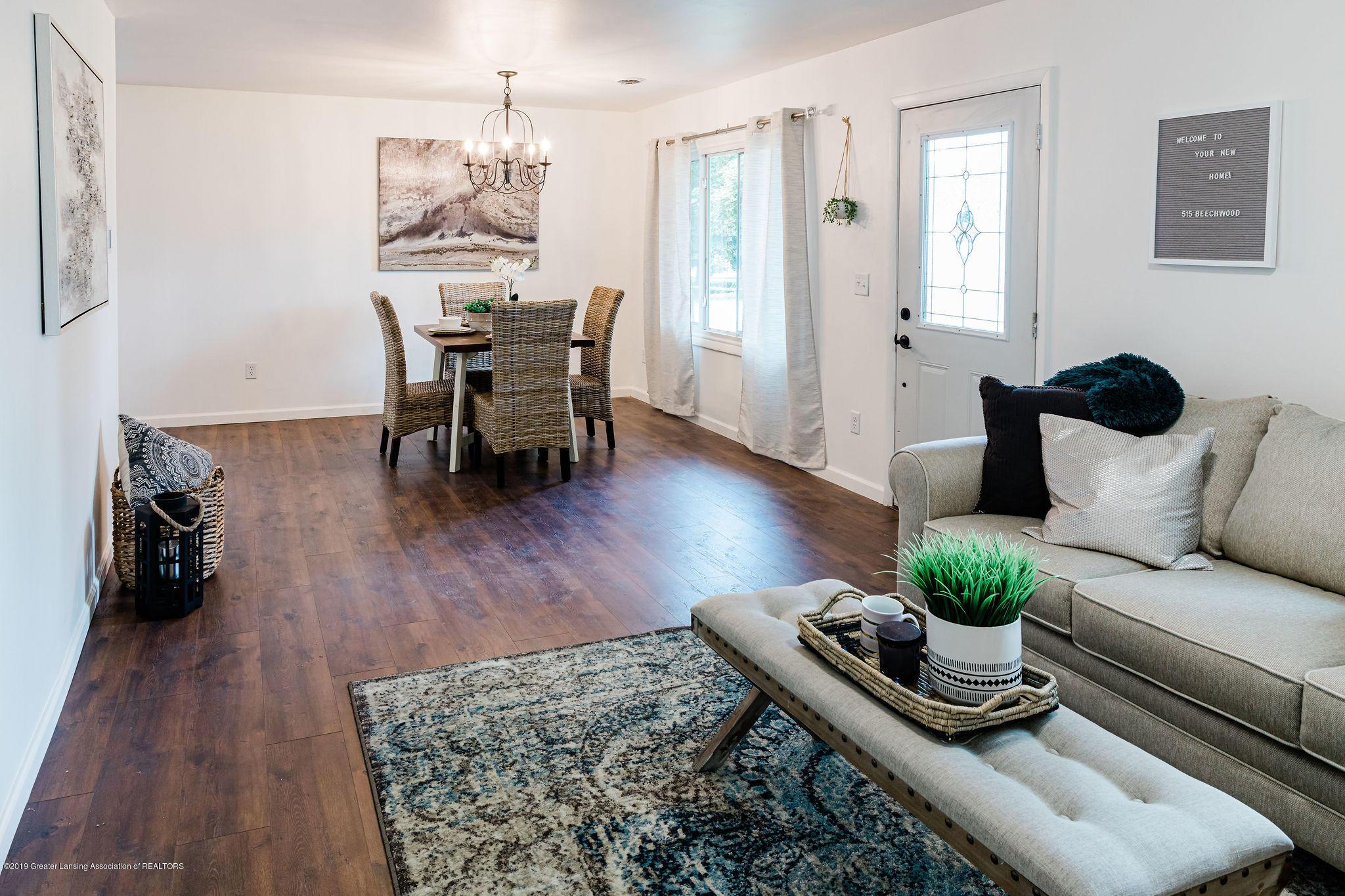 515 Beechwood St - Living Room/Dining Room - 12