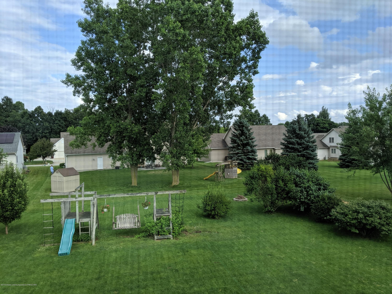 13605 Honeylocust Dr - back yard - 13